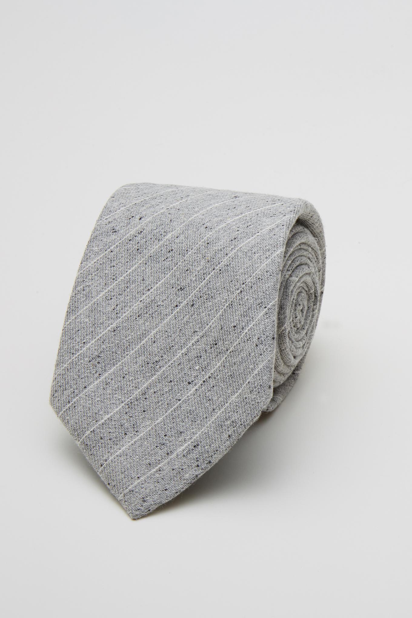 Tie Light Grey Classic Man