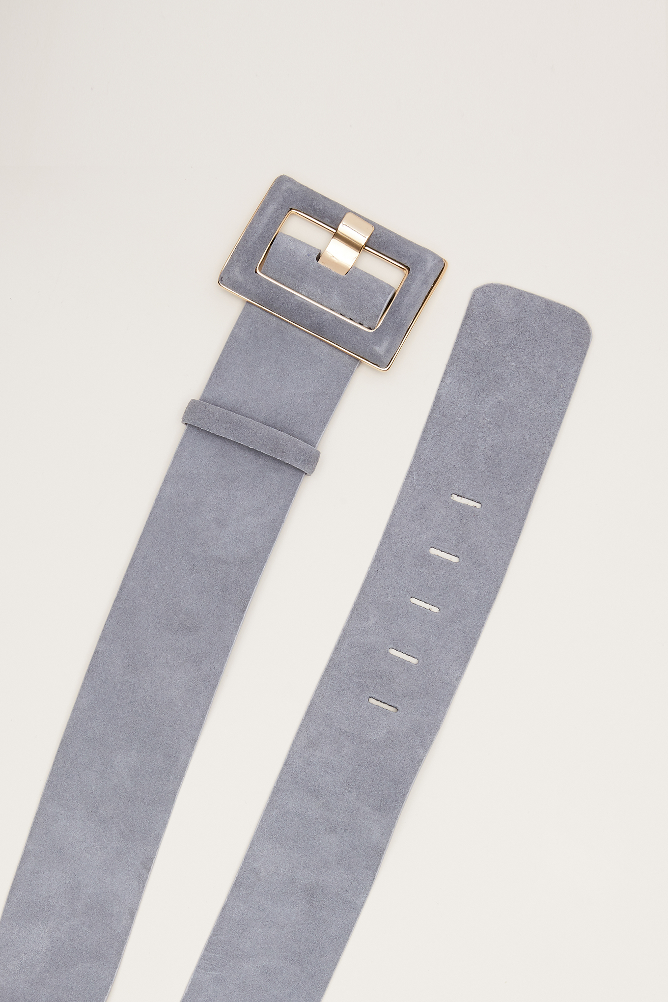 Belt Light Grey Classic Woman