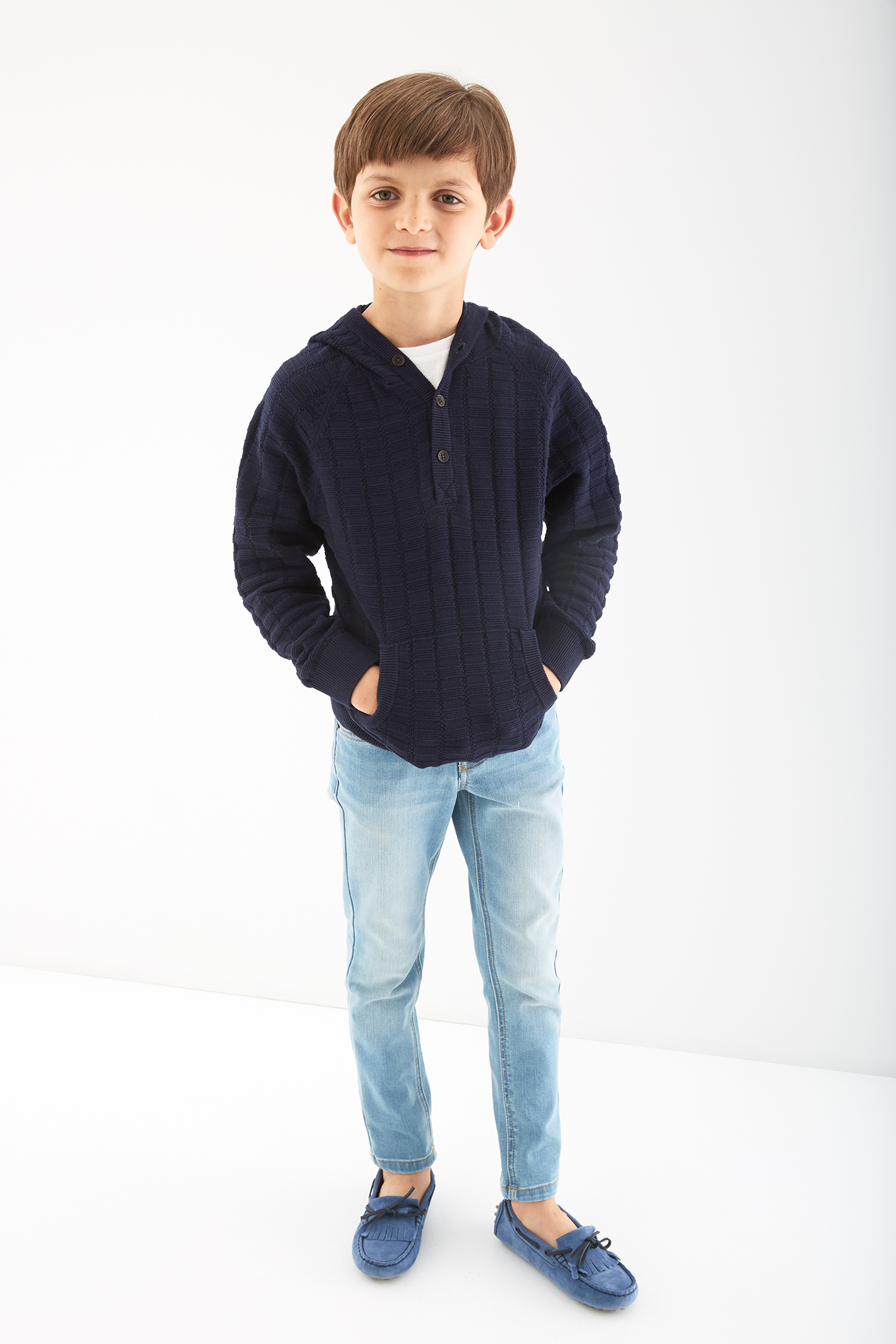 Sweater Dark Blue Sport Boy