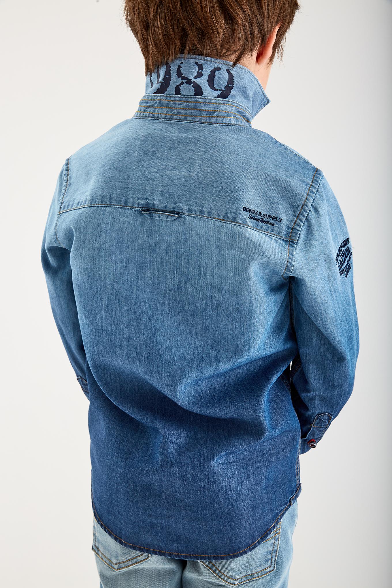 Shirt Dark Blue Sport Boy