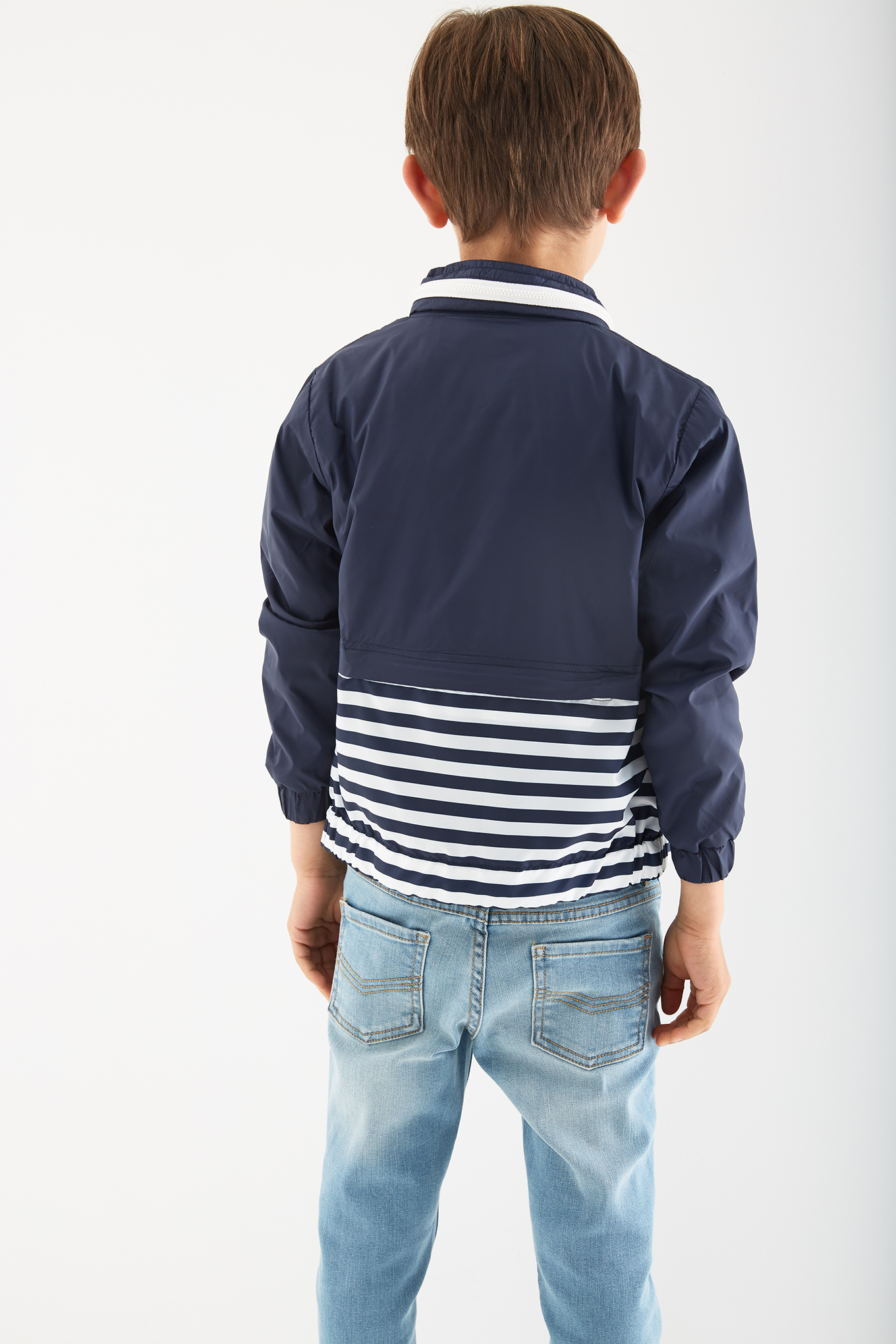Jacket Dark Blue Sport Boy