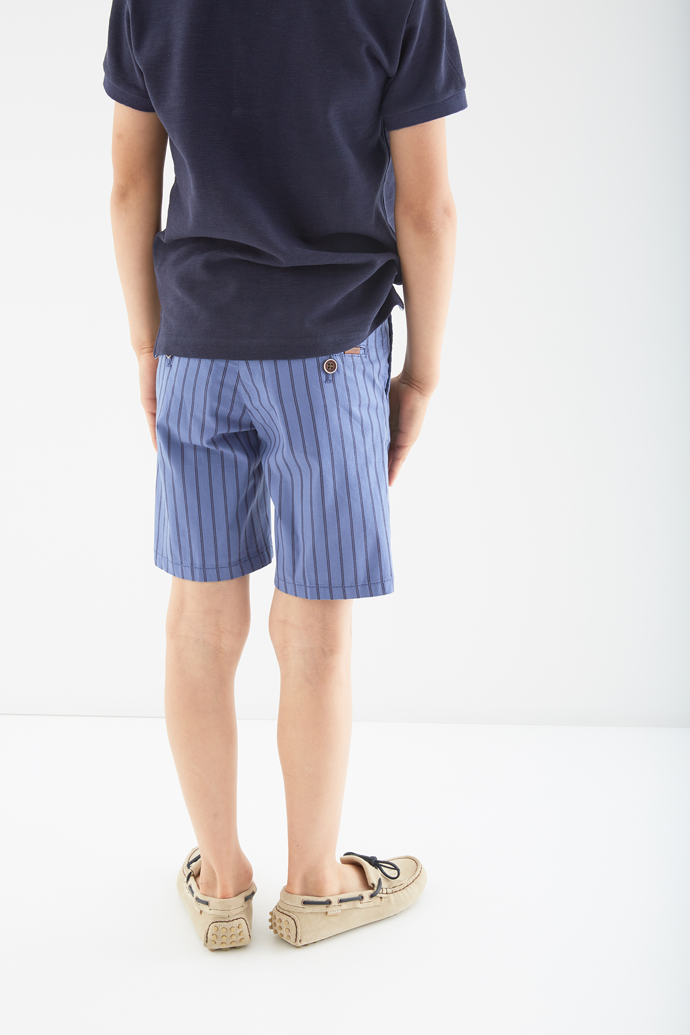 Bermuda Medium Blue Casual Boy