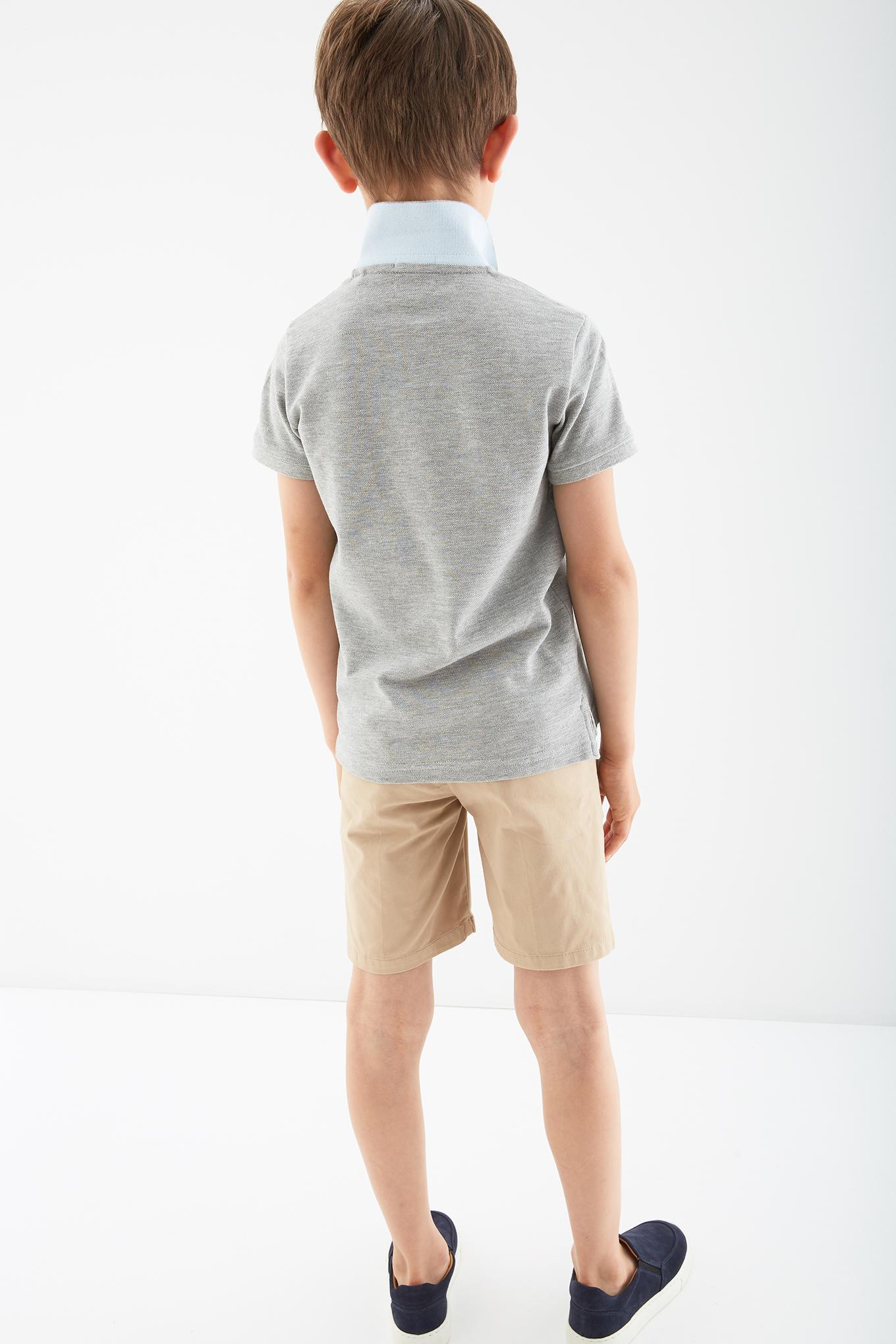 Bermuda Beige Casual Boy
