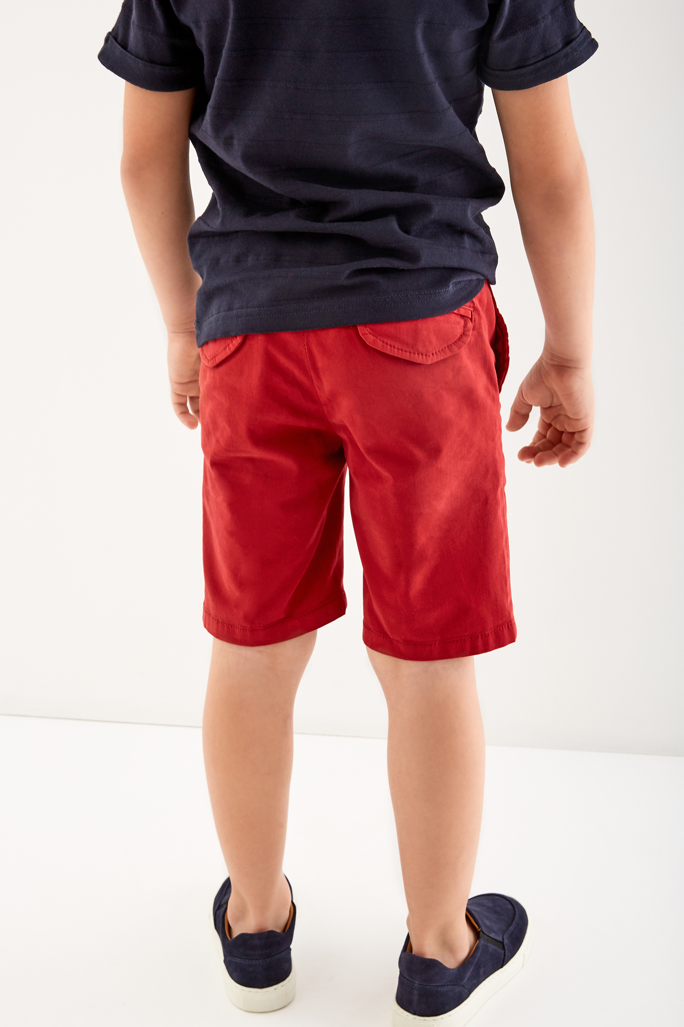 Bermuda Red Casual Boy