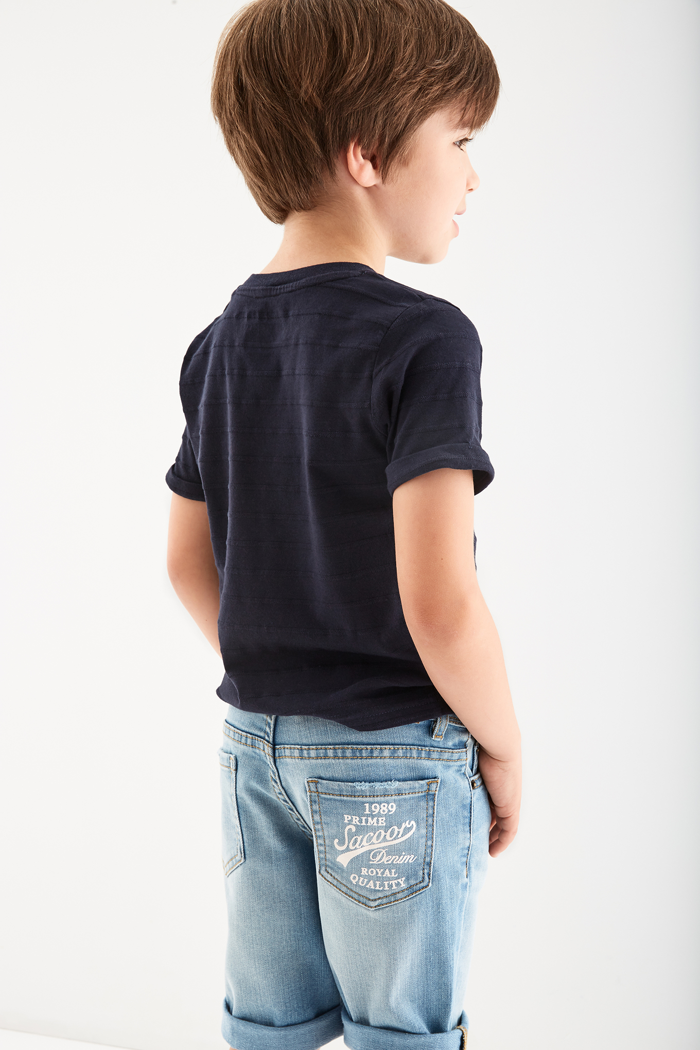 T-Shirt Dark Blue Sport Boy