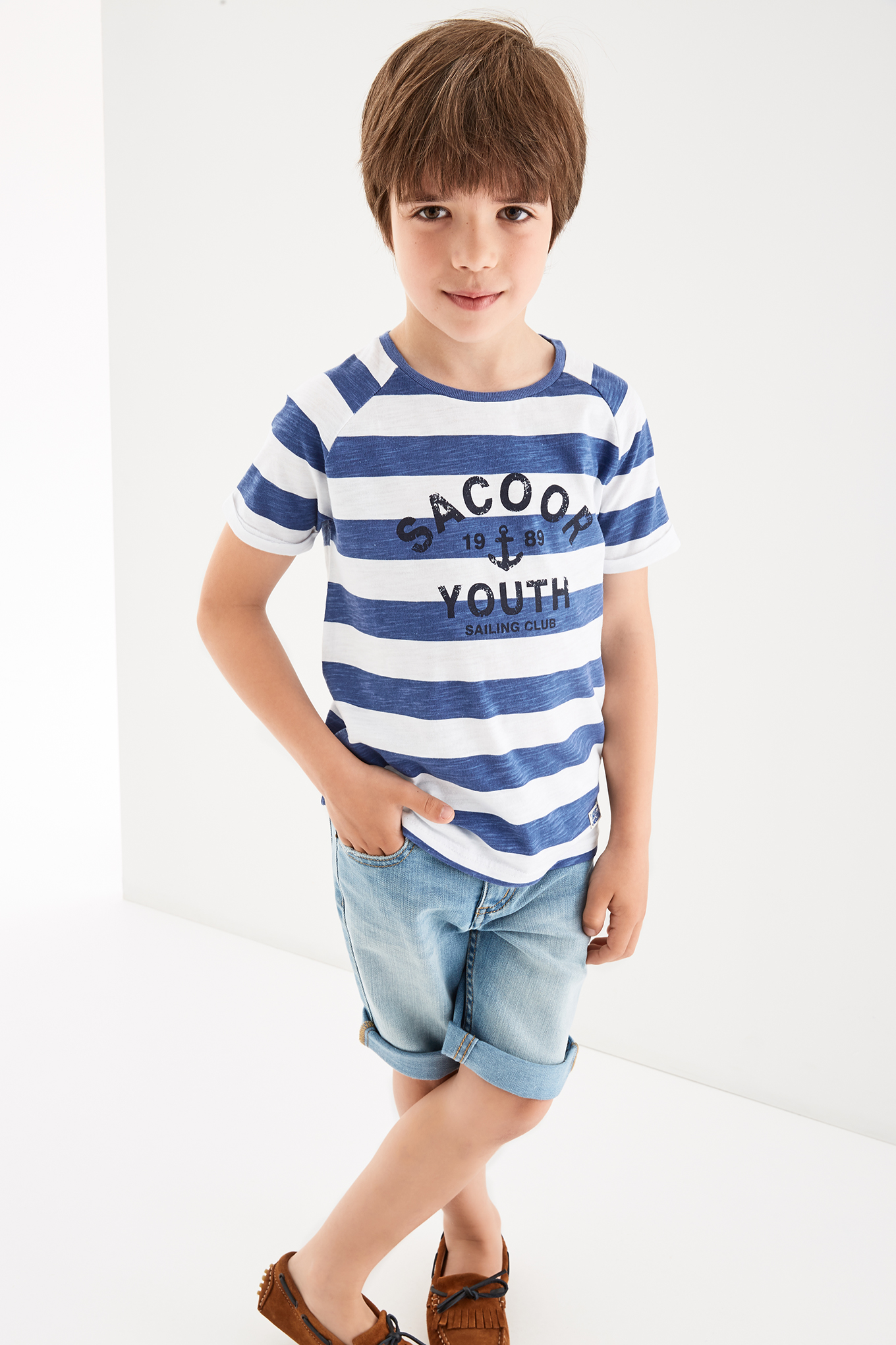 T-Shirt Blue Sport Boy