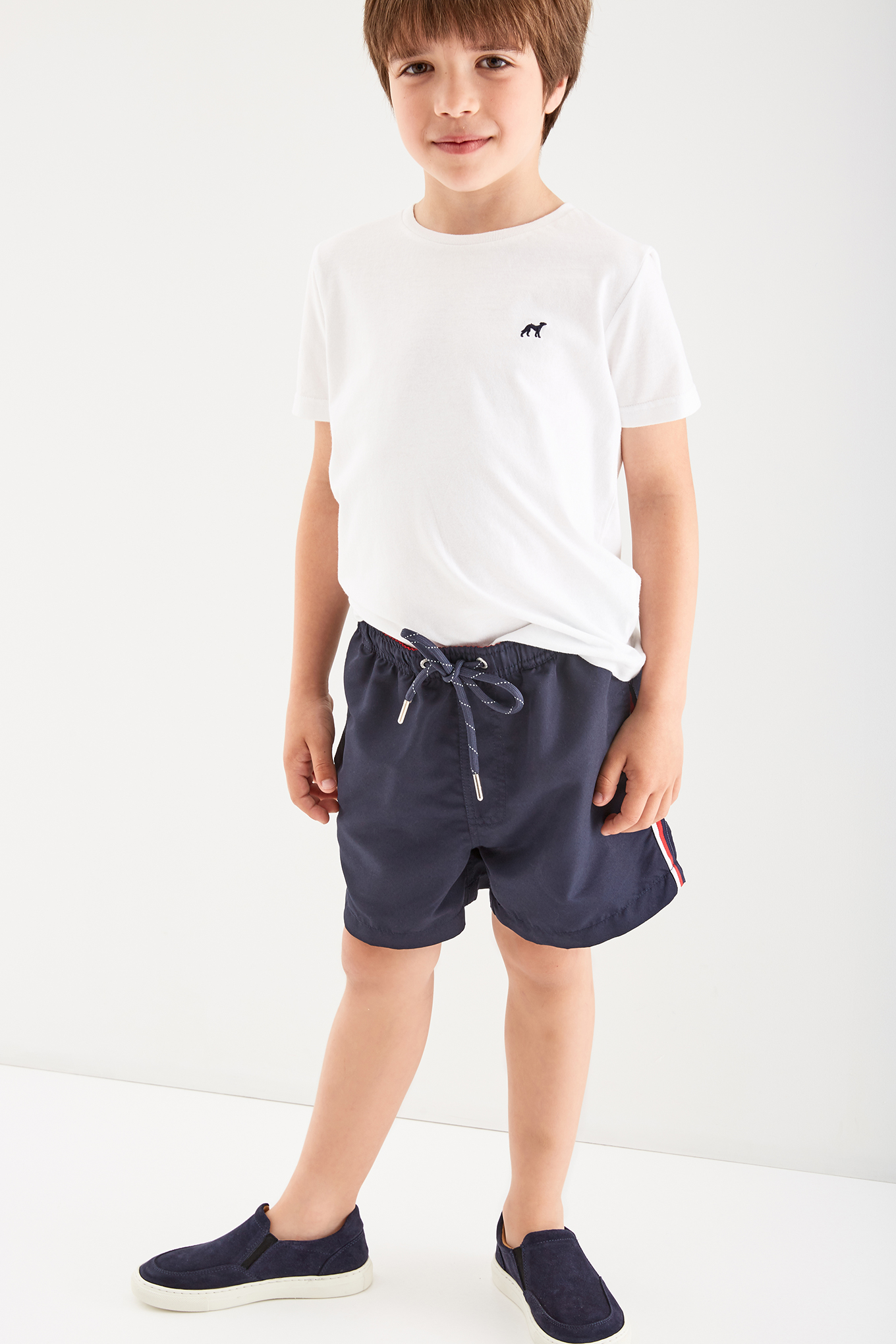 Beachwear Shorts Dark Blue Sport Boy