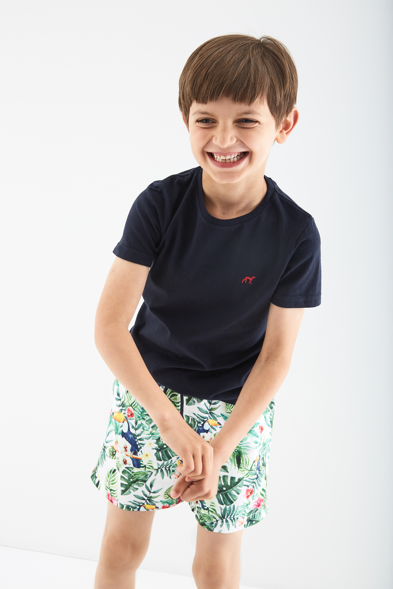 Beachwear Shorts Print Casual Boy