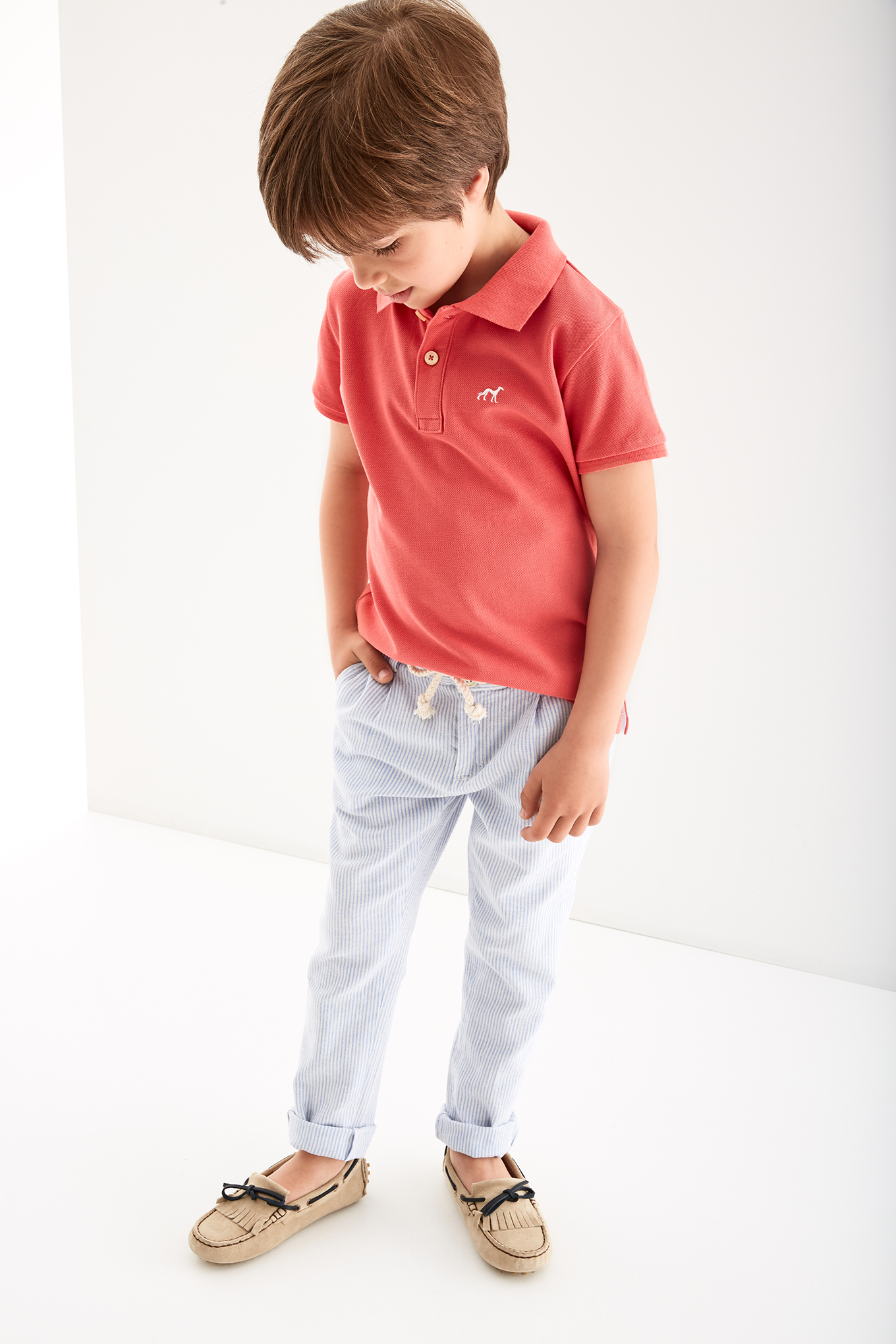 Polo Piquet Color 1 Sport Boy