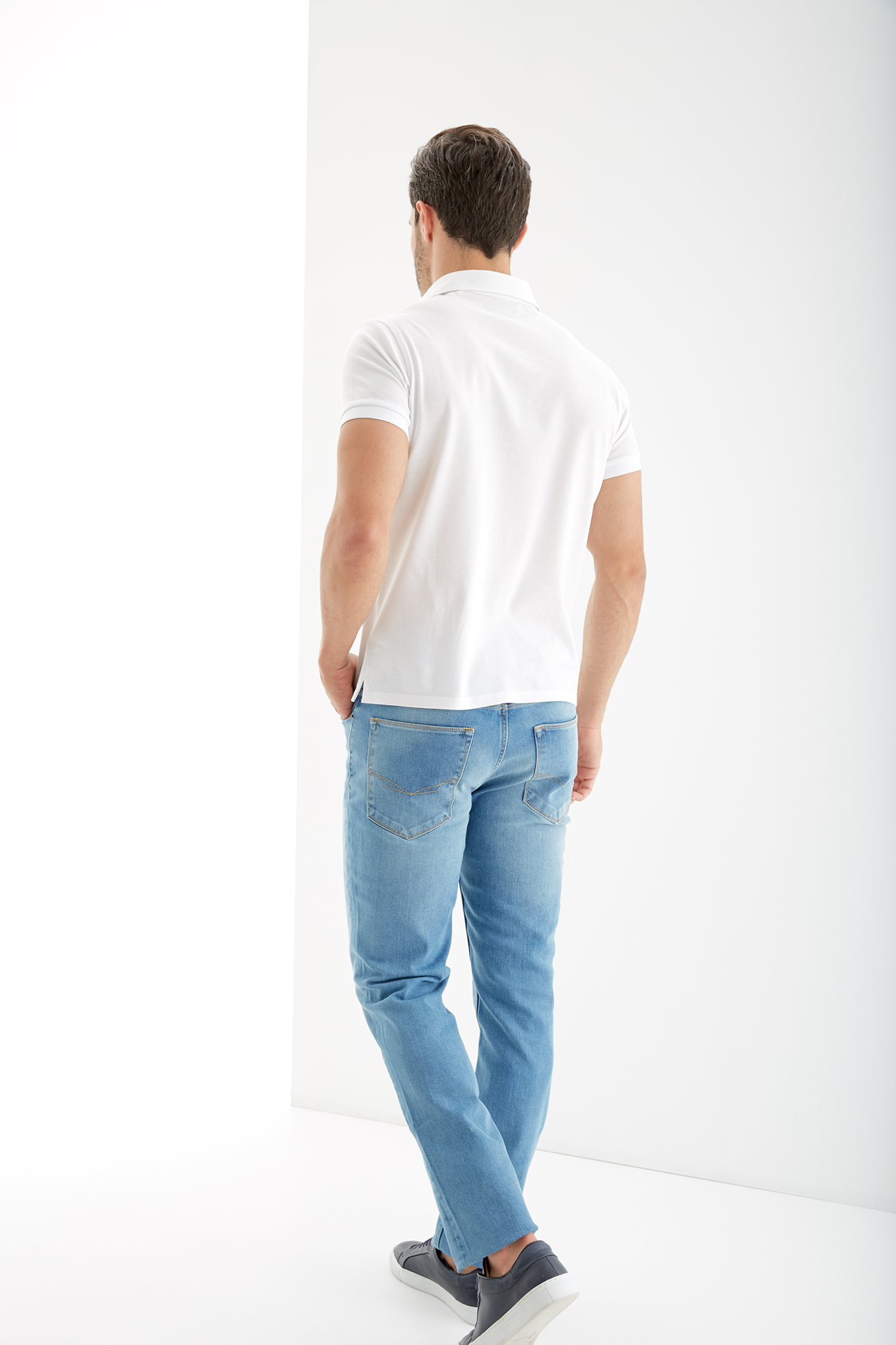 Jeans Light Blue Sport Man