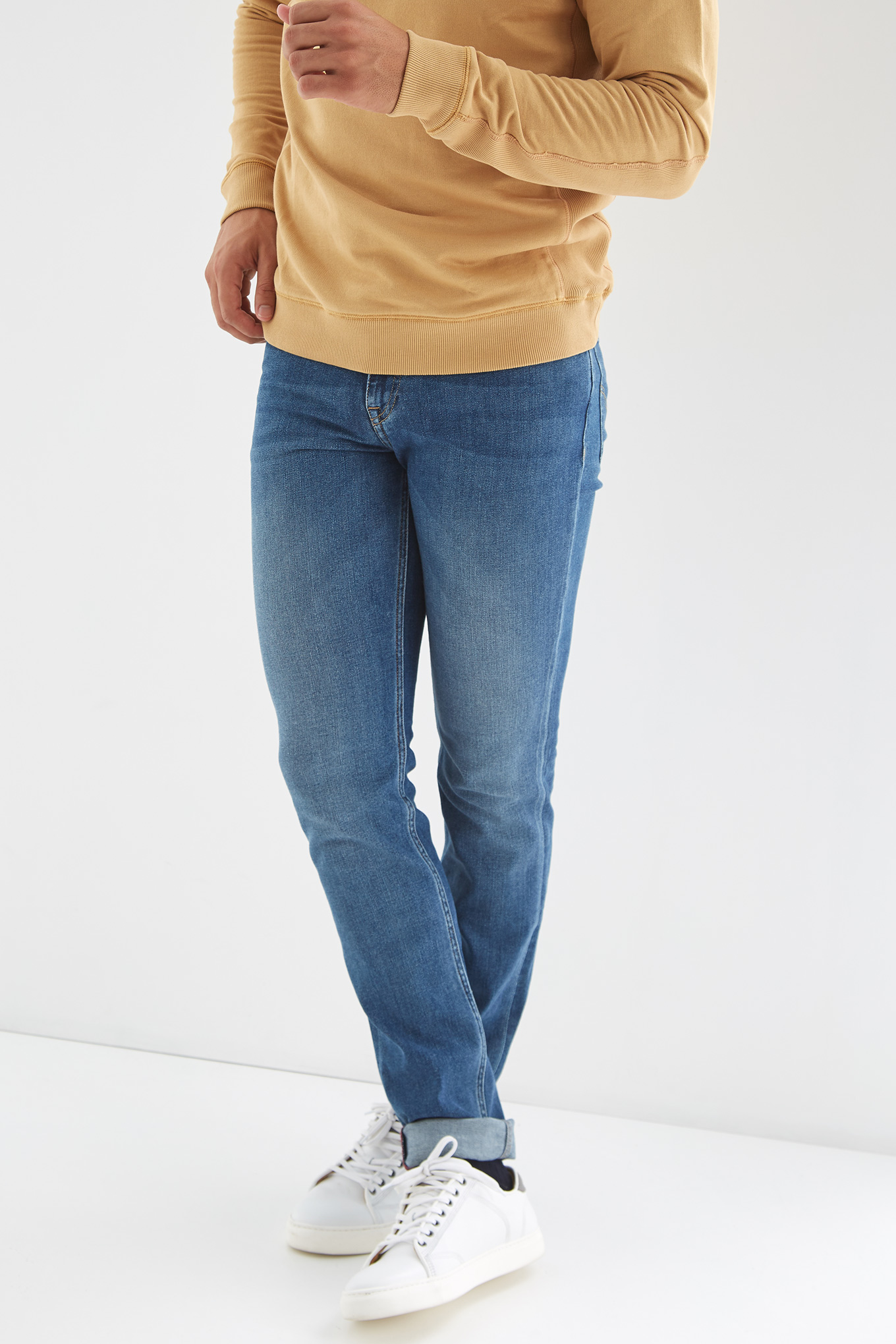 Jeans Light Blue Casual Man