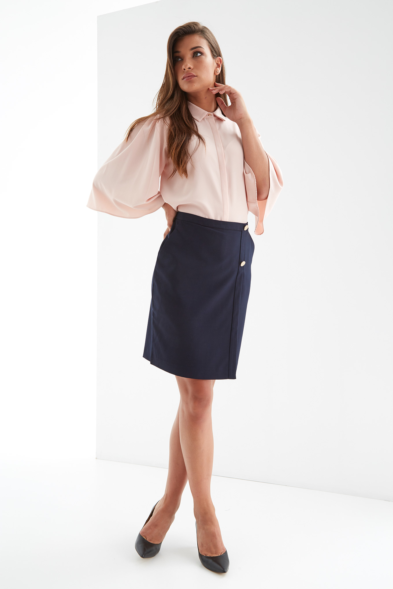 Skirt Dark Blue Fantasy Woman