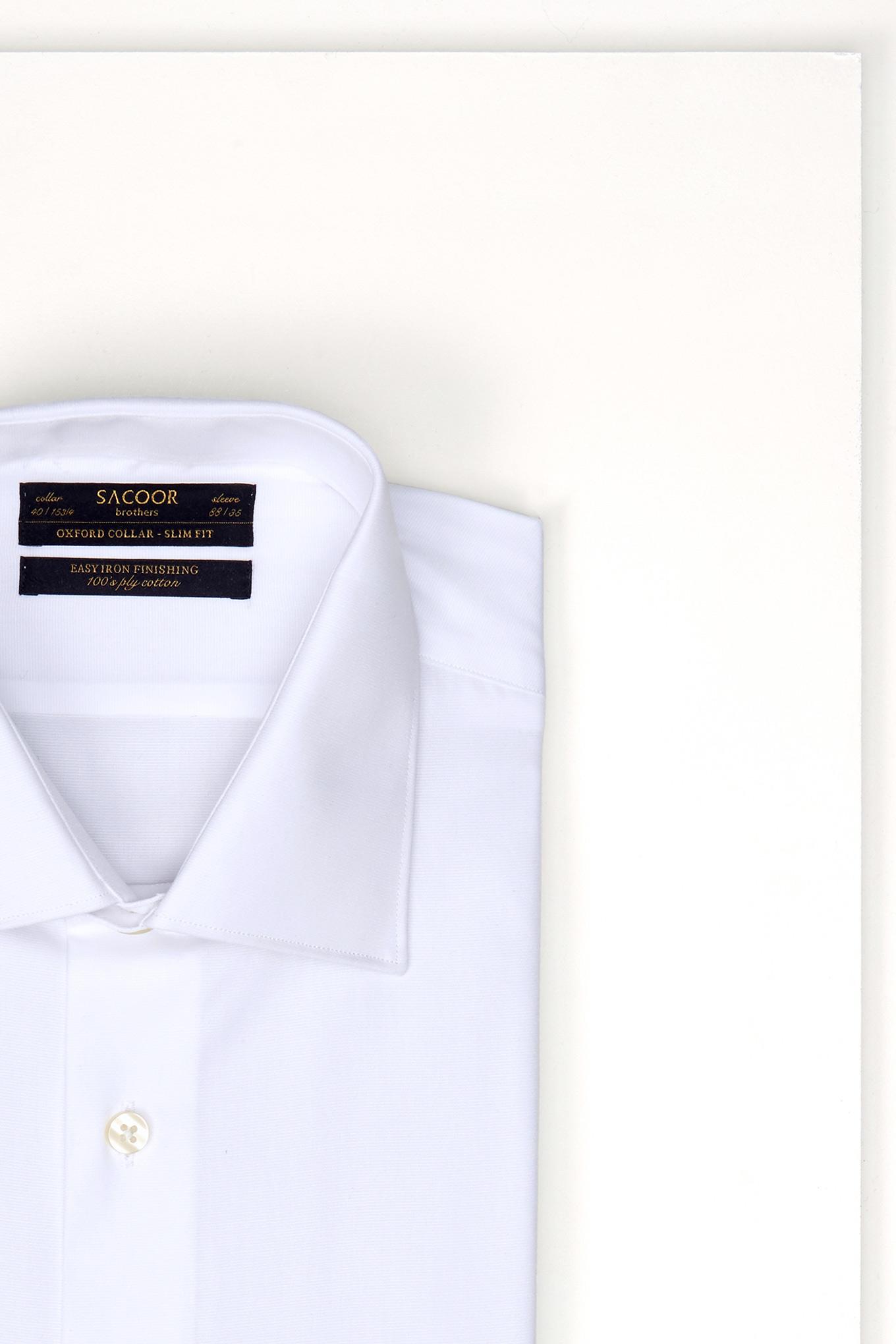 Shirt White Classic Man
