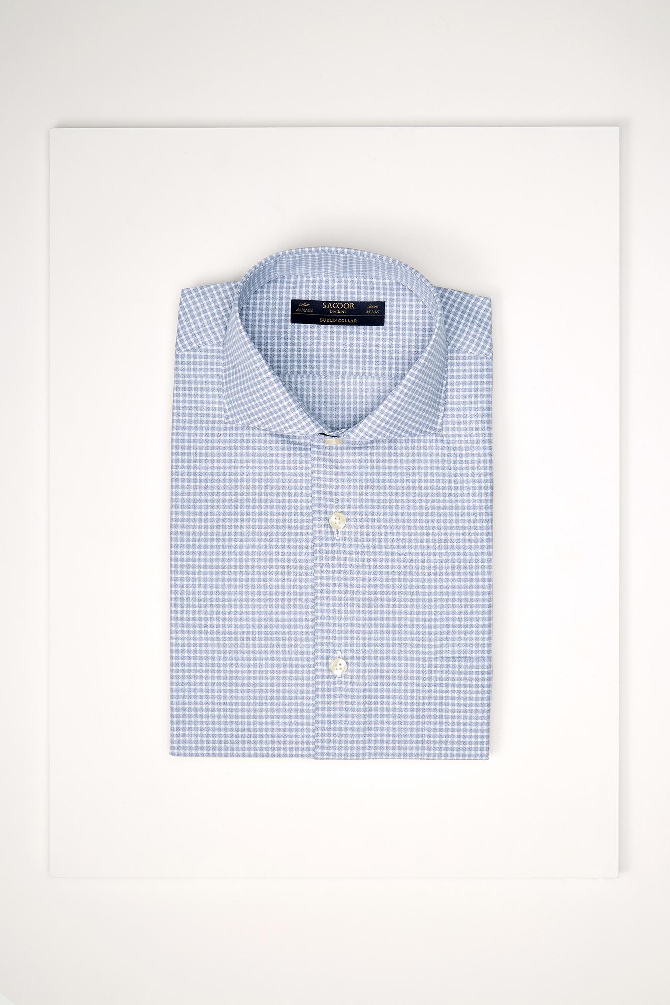 Shirt Grey Classic Man