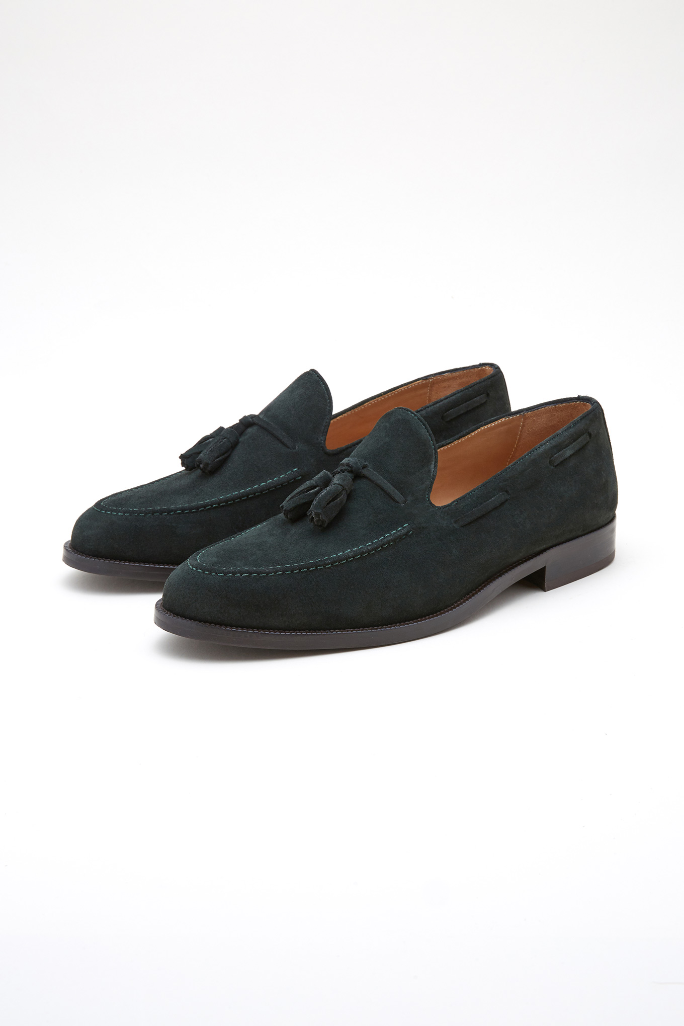 Shoes Green Classic Man