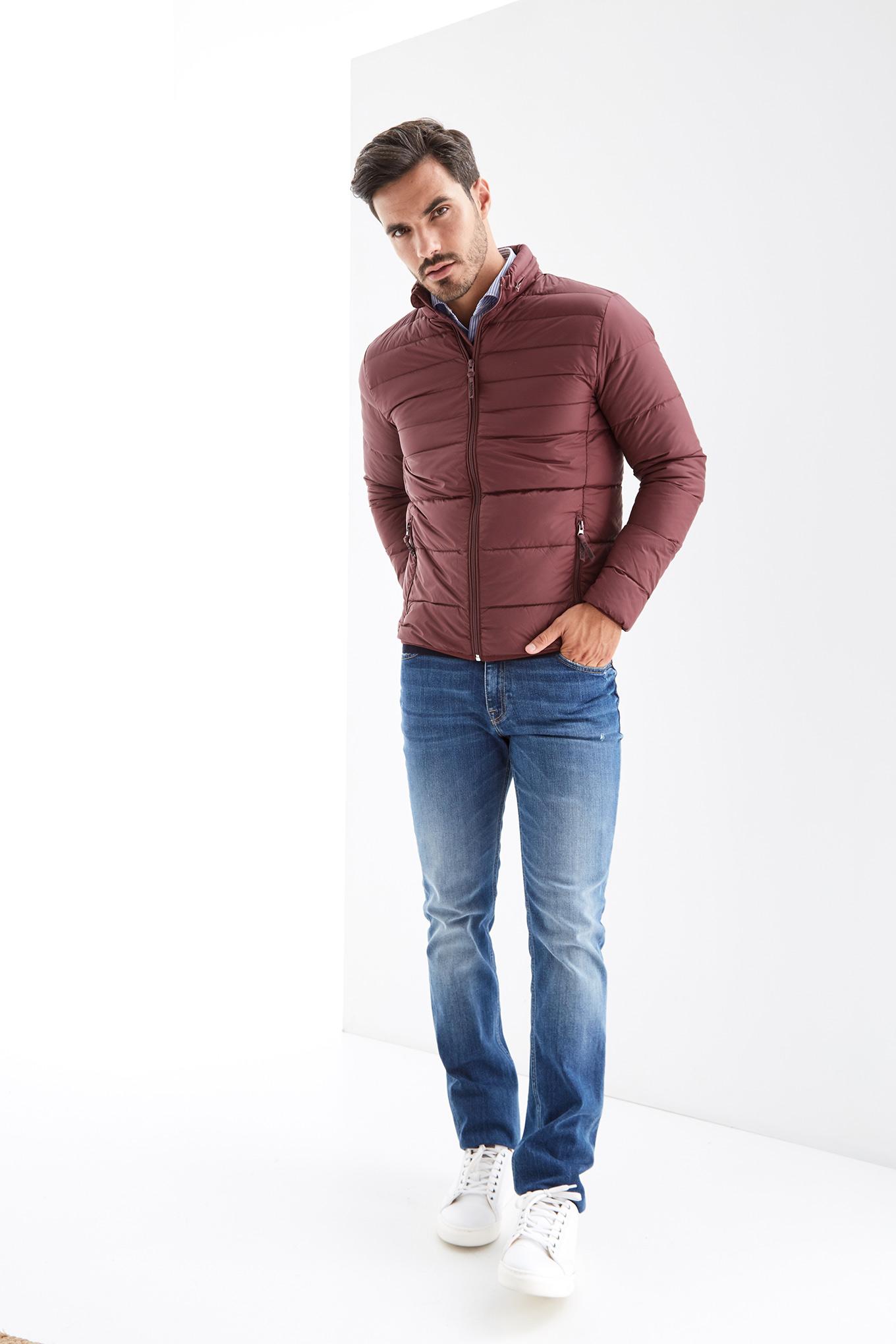 Jacket Bordeaux Casual Man
