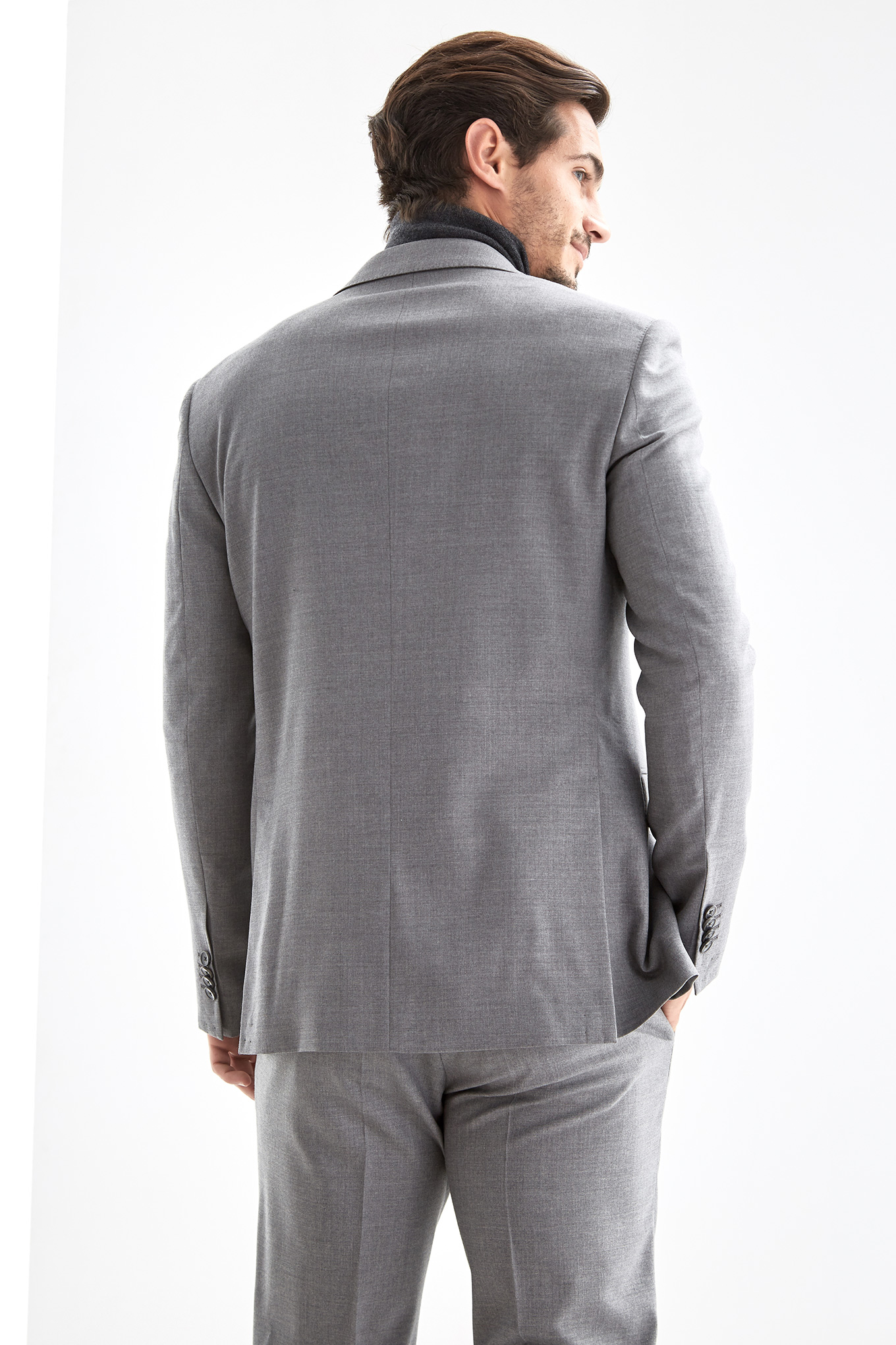 Suit Grey Classic Man