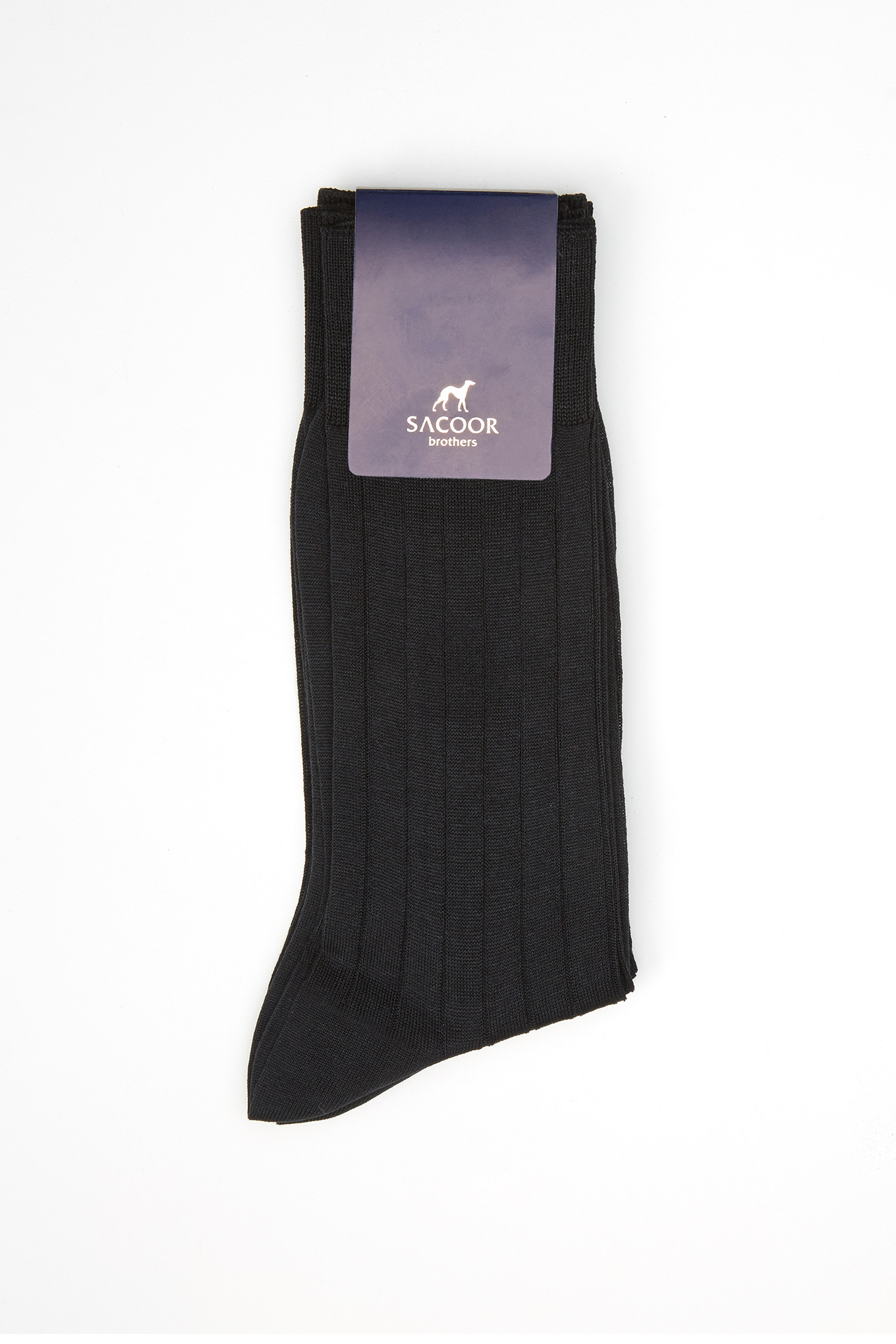 Socks Dark Grey Classic Man