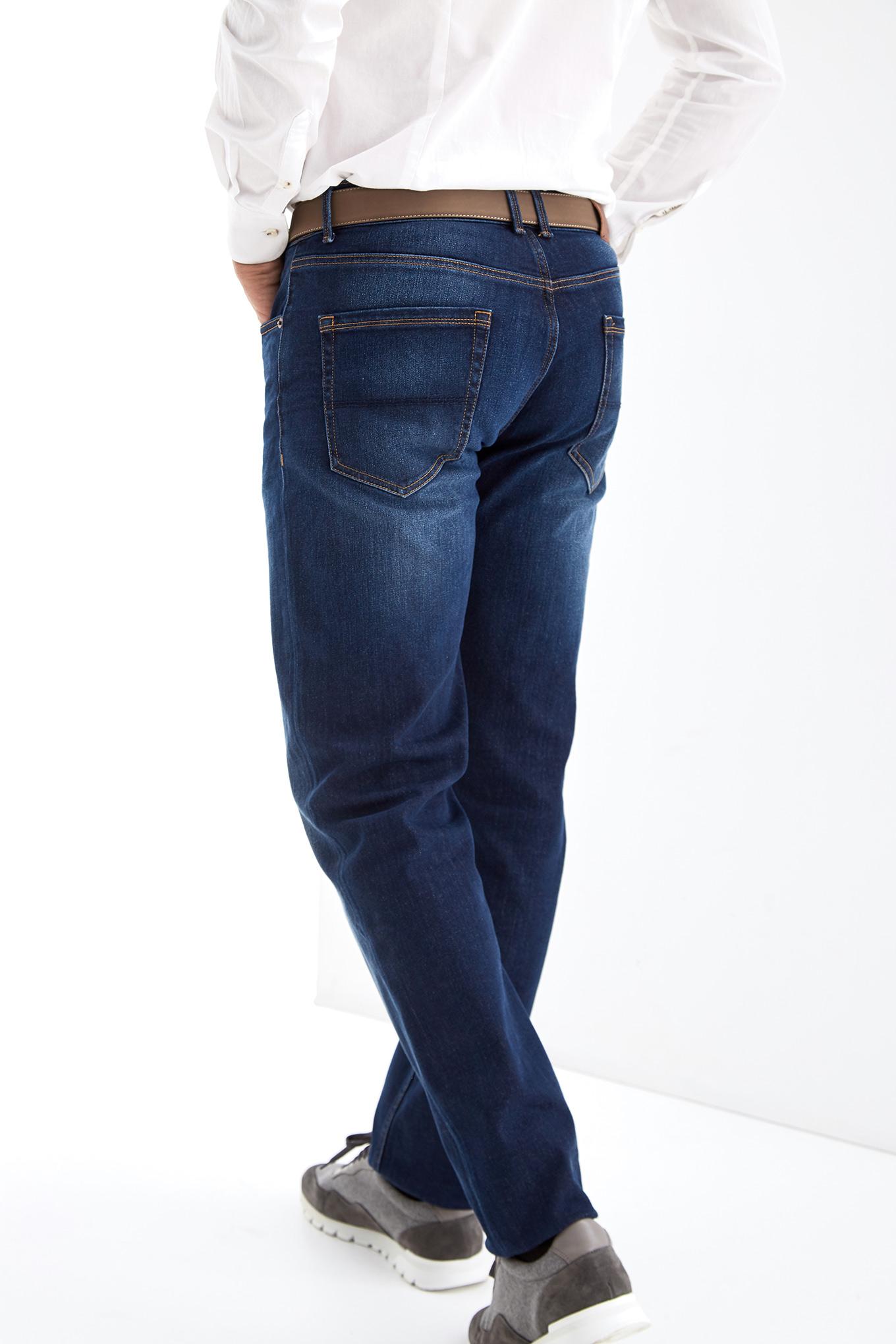 Calças Ganga Azul Escuro Casual Homem