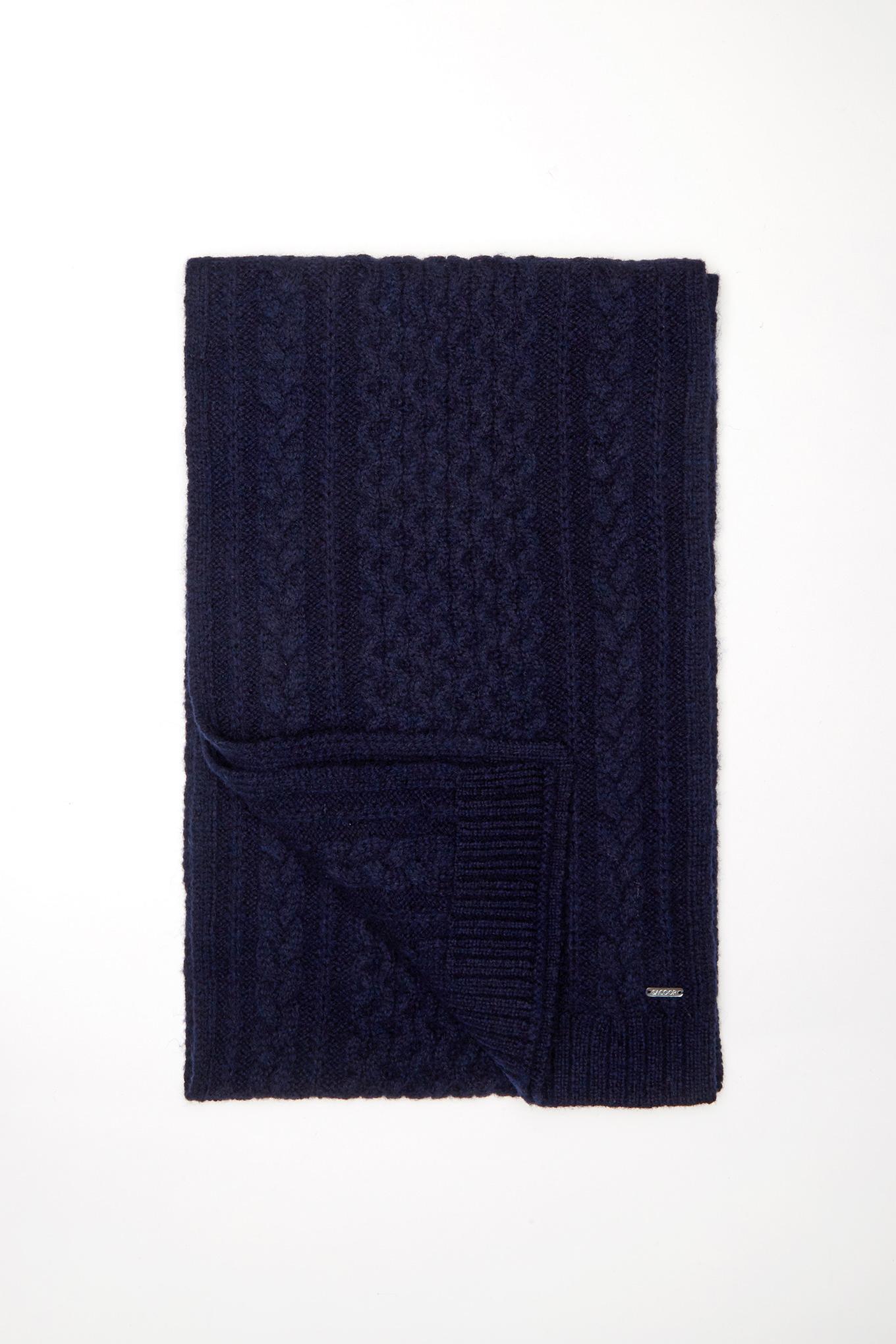 Cachecol/Echarpe Azul Escuro Casual Homem