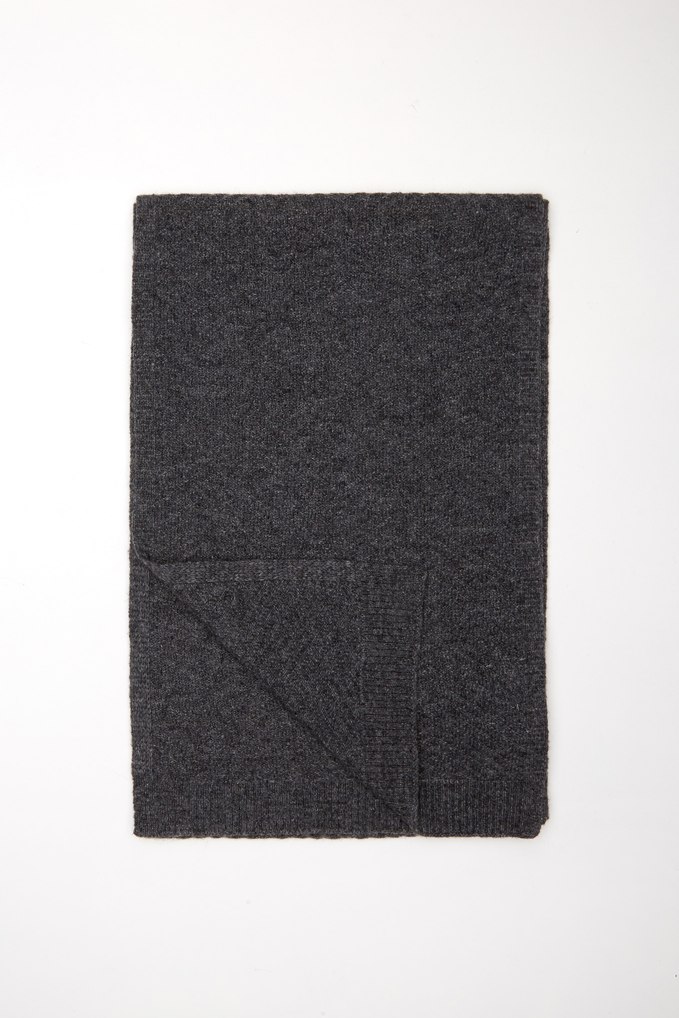 Scarf Dark Grey Casual Man