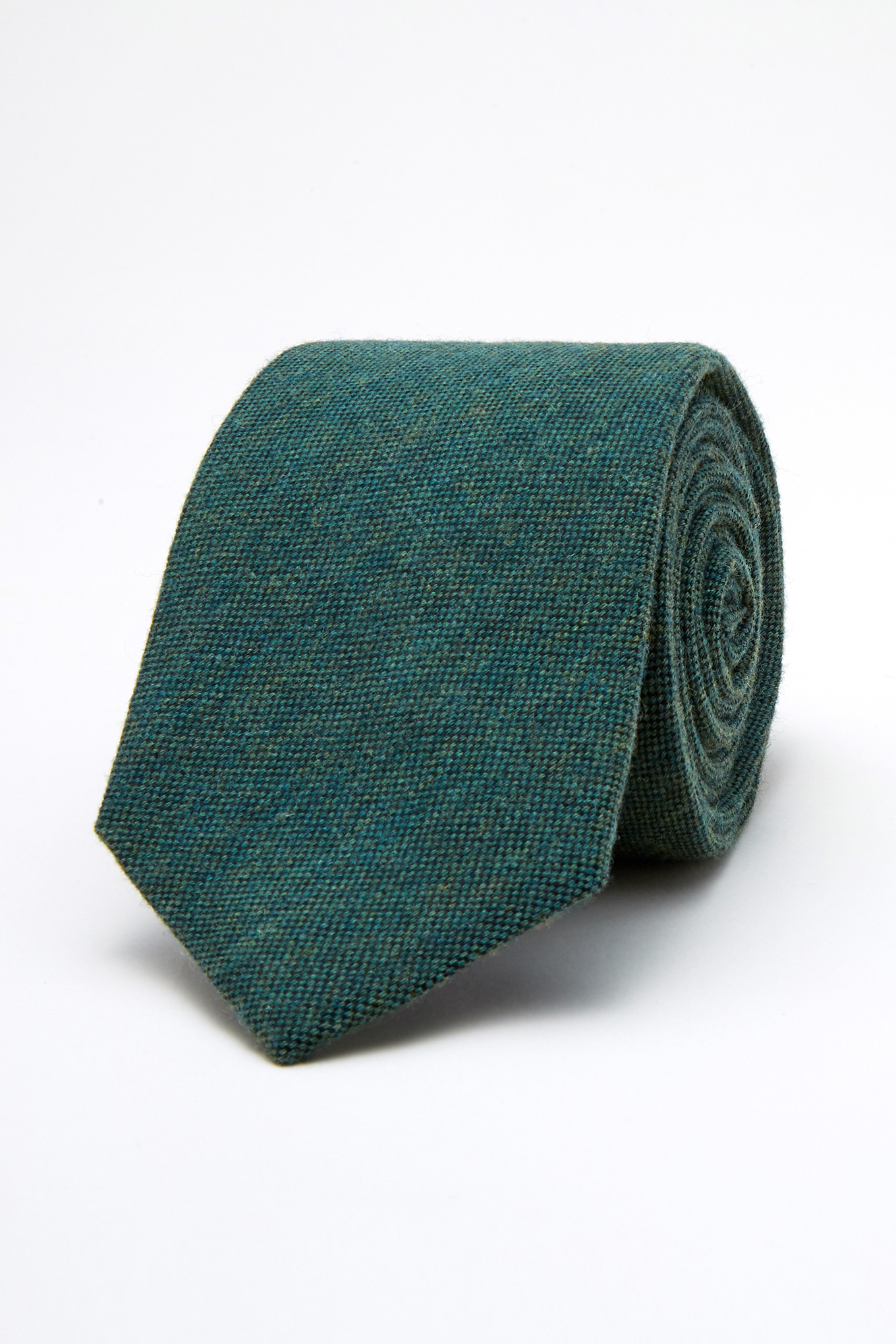 Tie Dark Green Classic Man