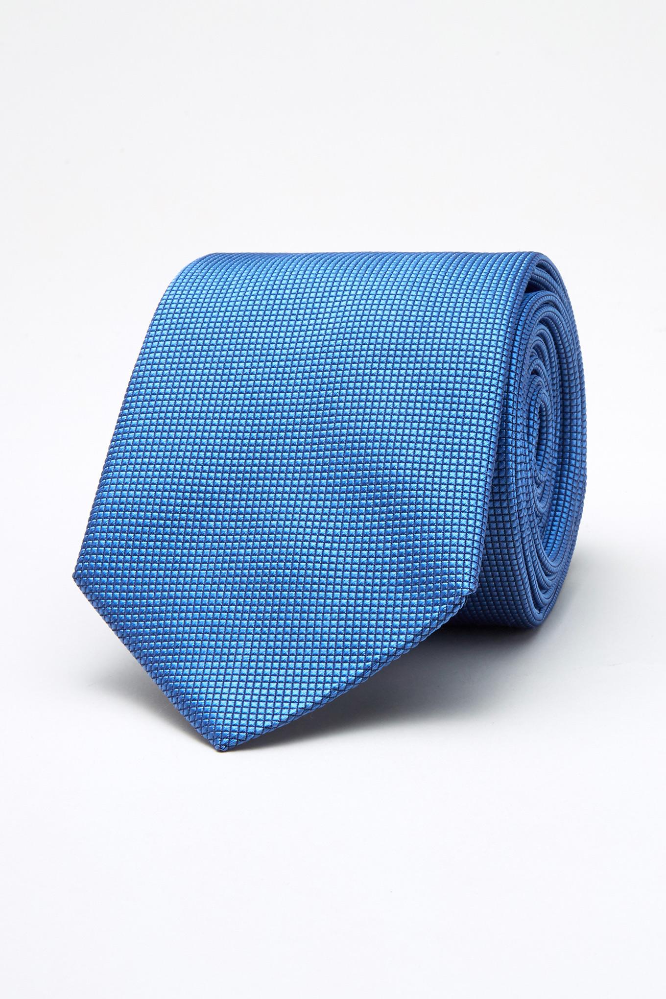 Tie Light Blue Classic Man