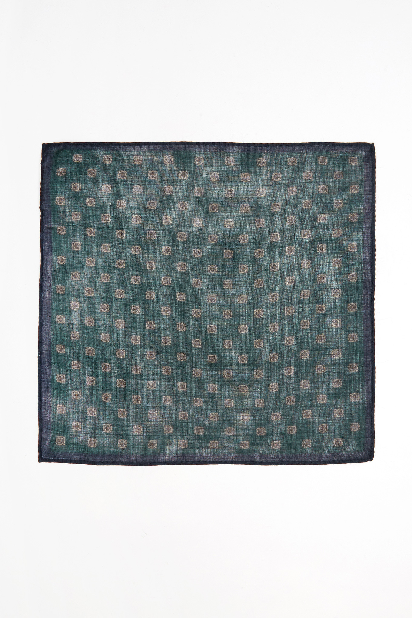 Handkerchief Green Classic Man