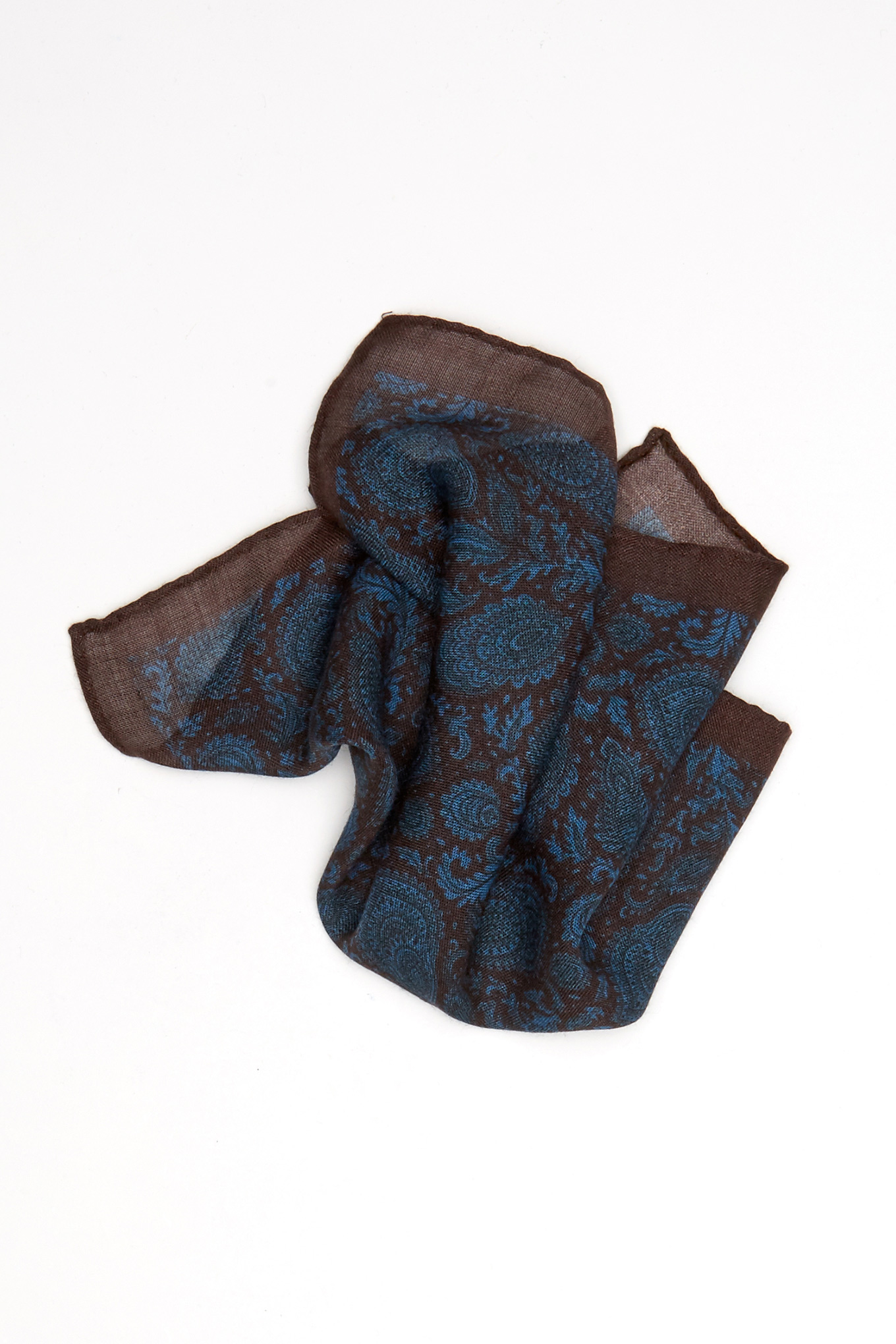 Handkerchief Brown Classic Man