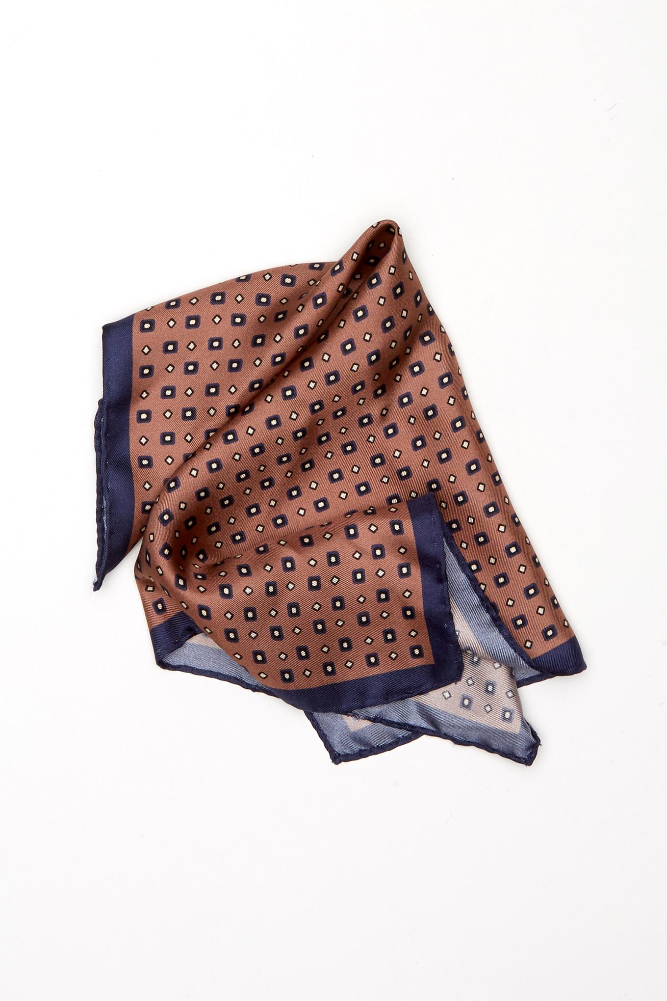 Handkerchief Beige Classic Man