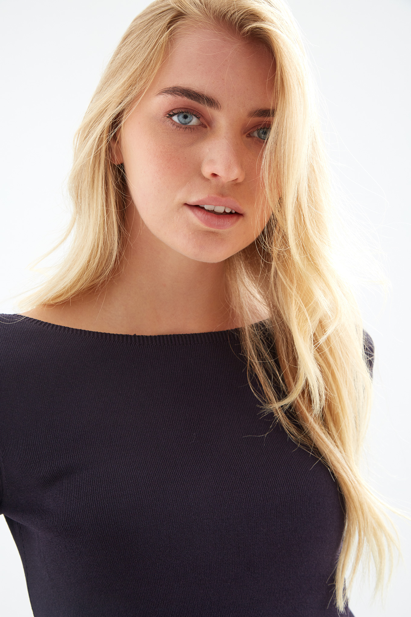 Sweater Plum Casual Woman