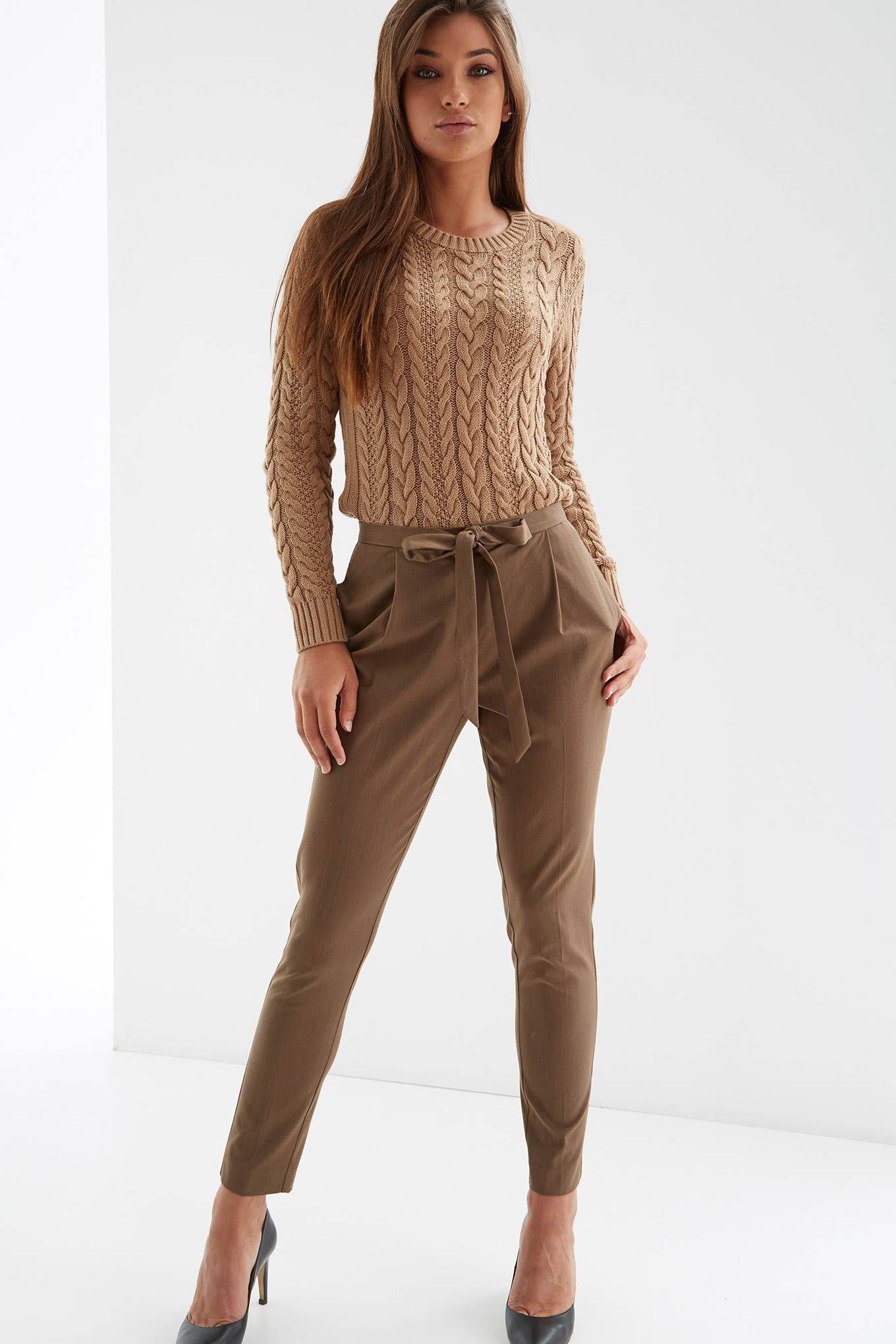 Trousers Camel Fantasy Woman