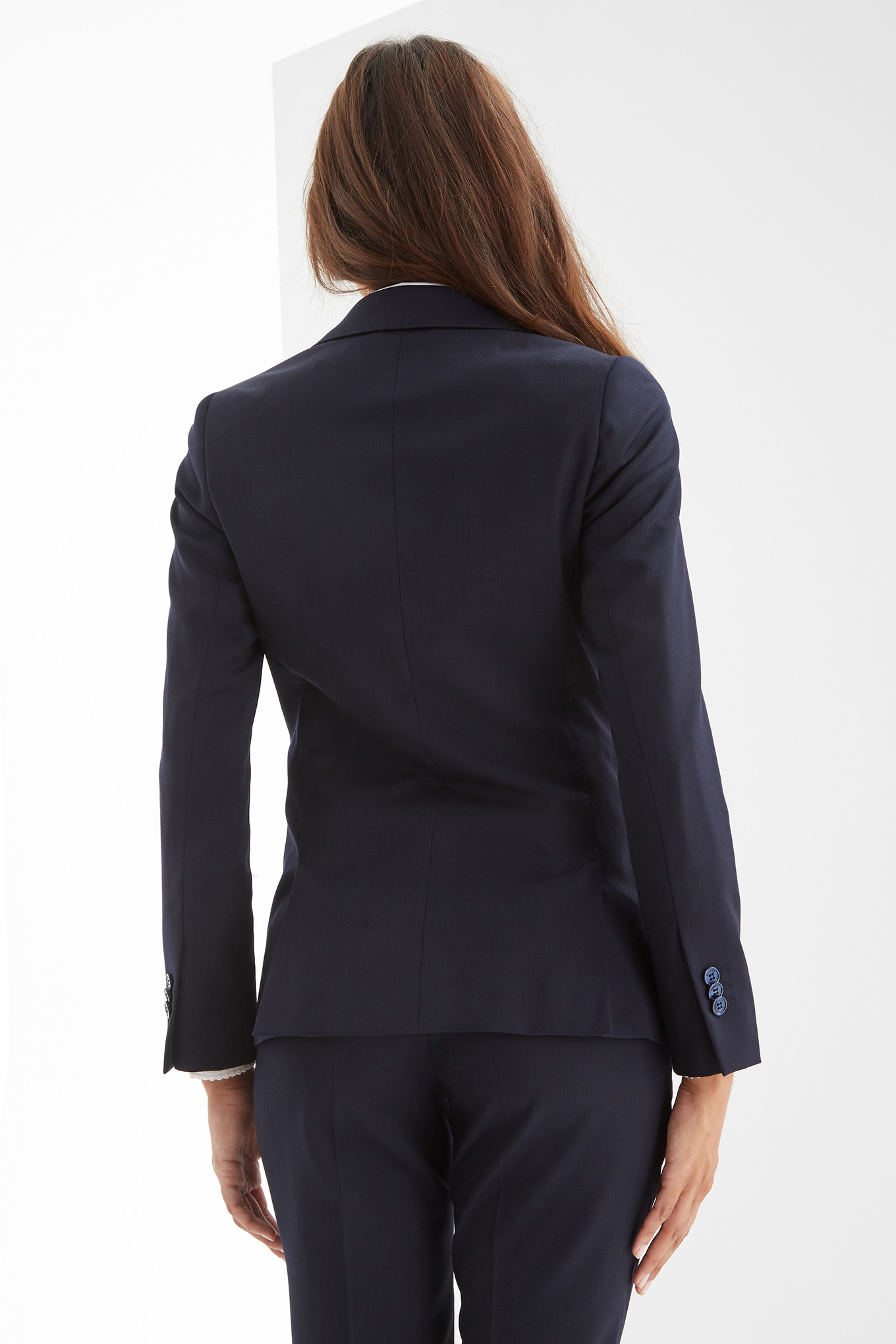 Suit Dark Blue Classic Woman