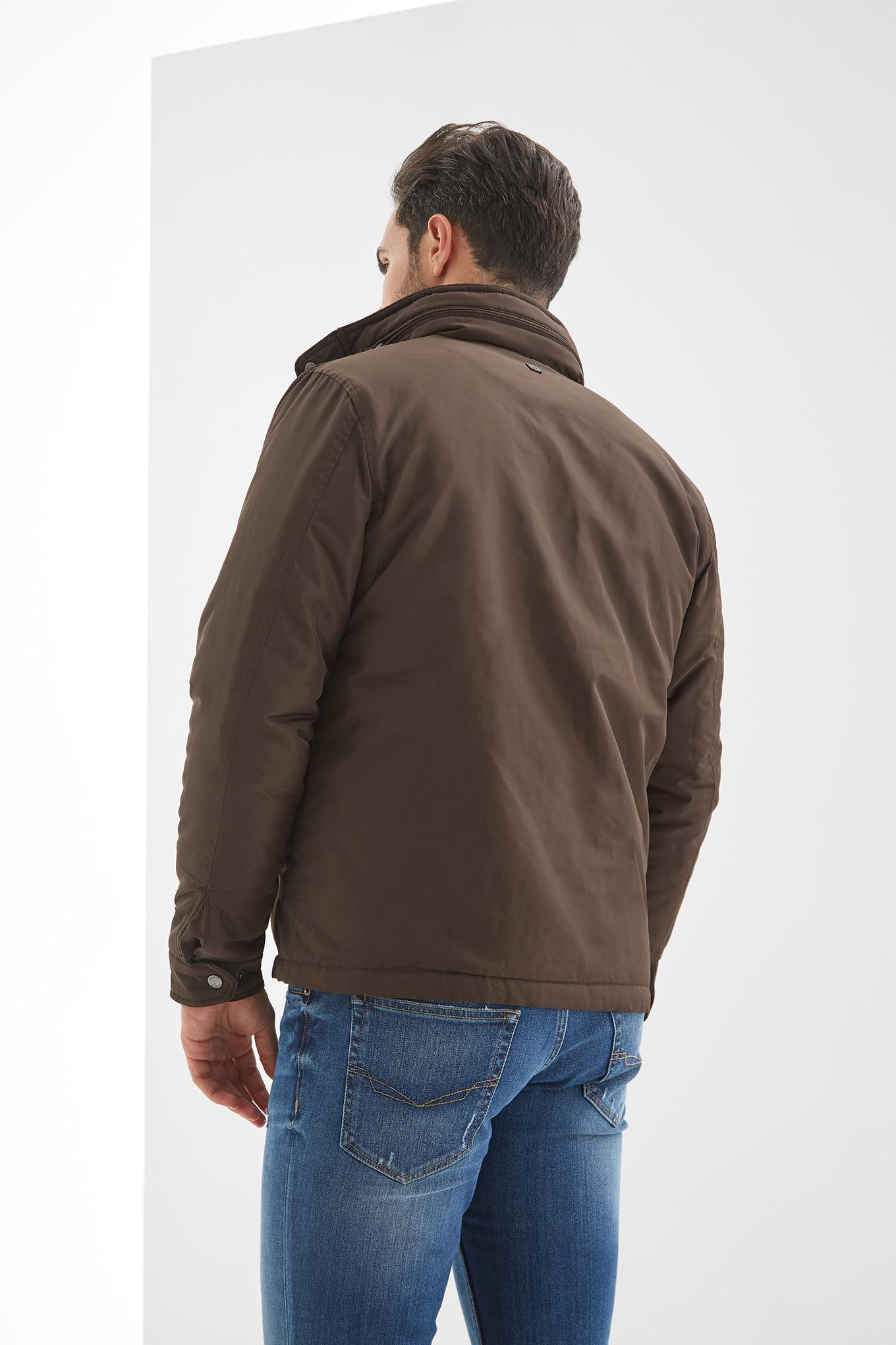 Jacket Brown Casual Man