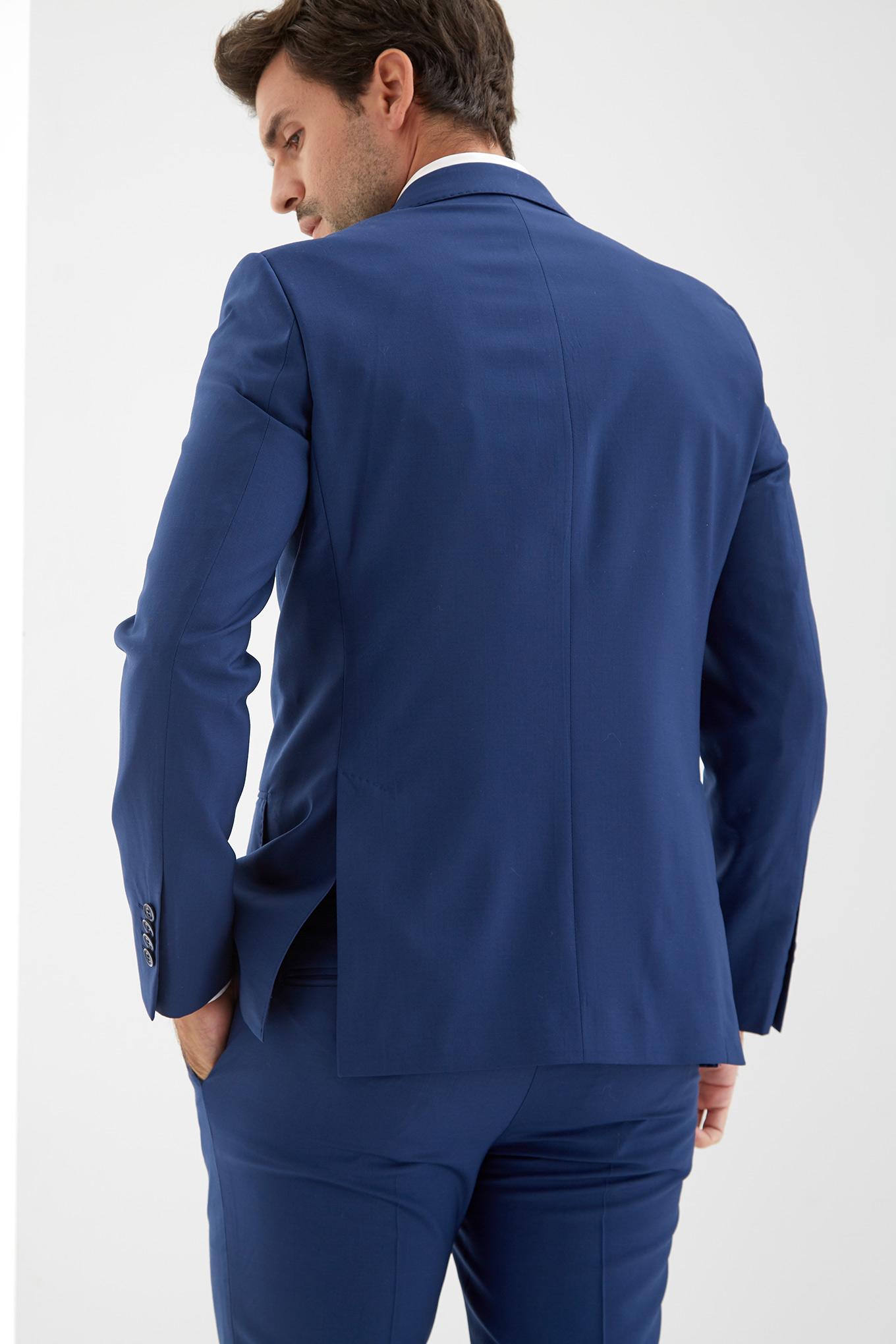 Suit Medium Blue Classic Man