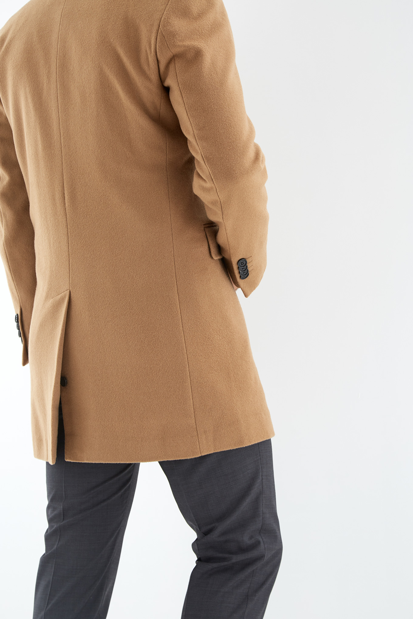 Overcoat Camel Casual Man