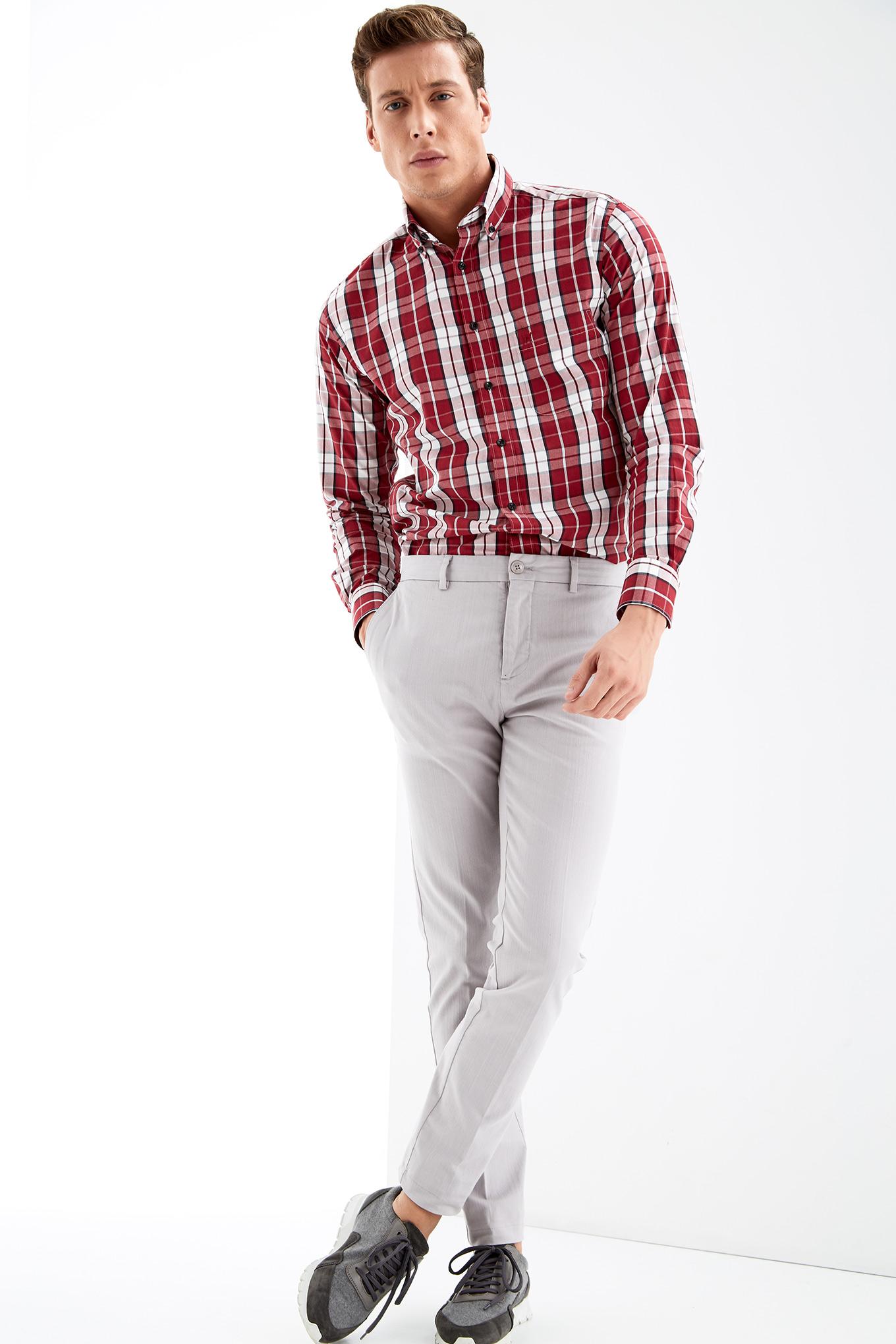 Shirt Bordeaux Sport Man