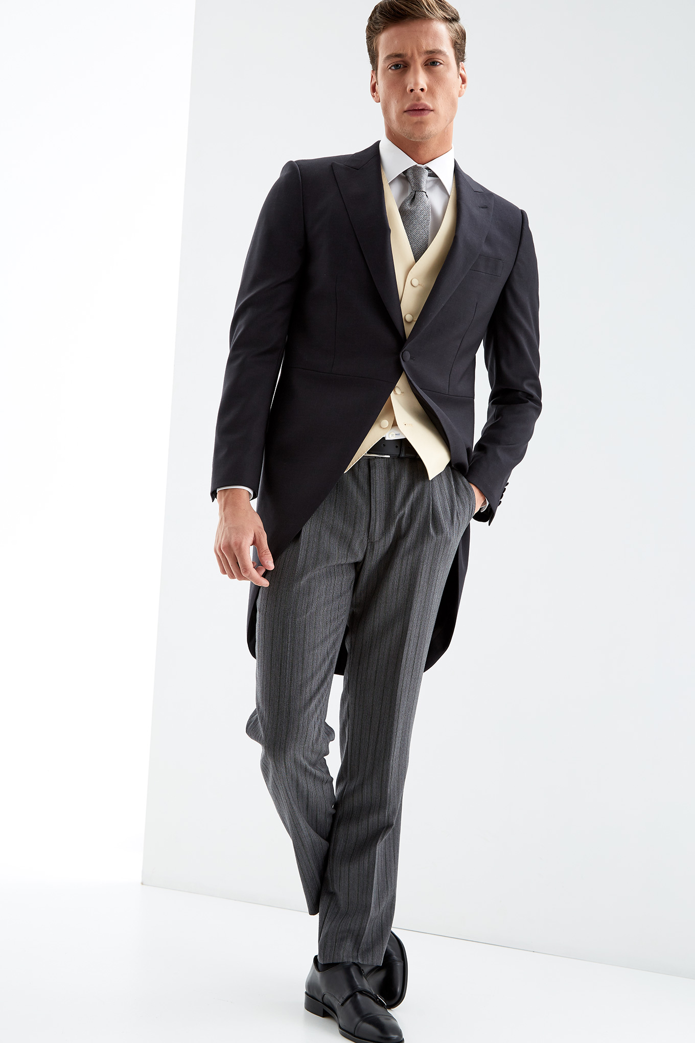 Morning Suit Dark Grey Classic Man