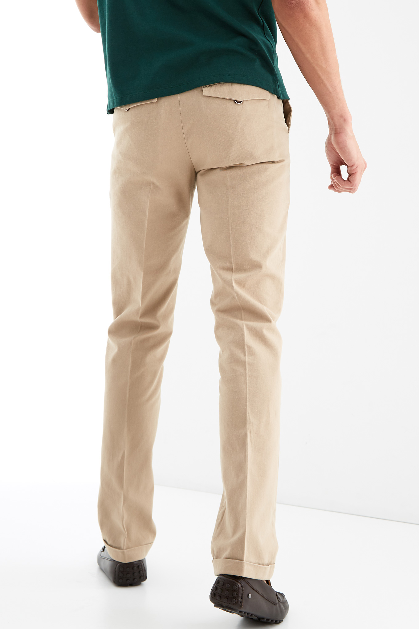 Chino Trousers Beige Sport Man