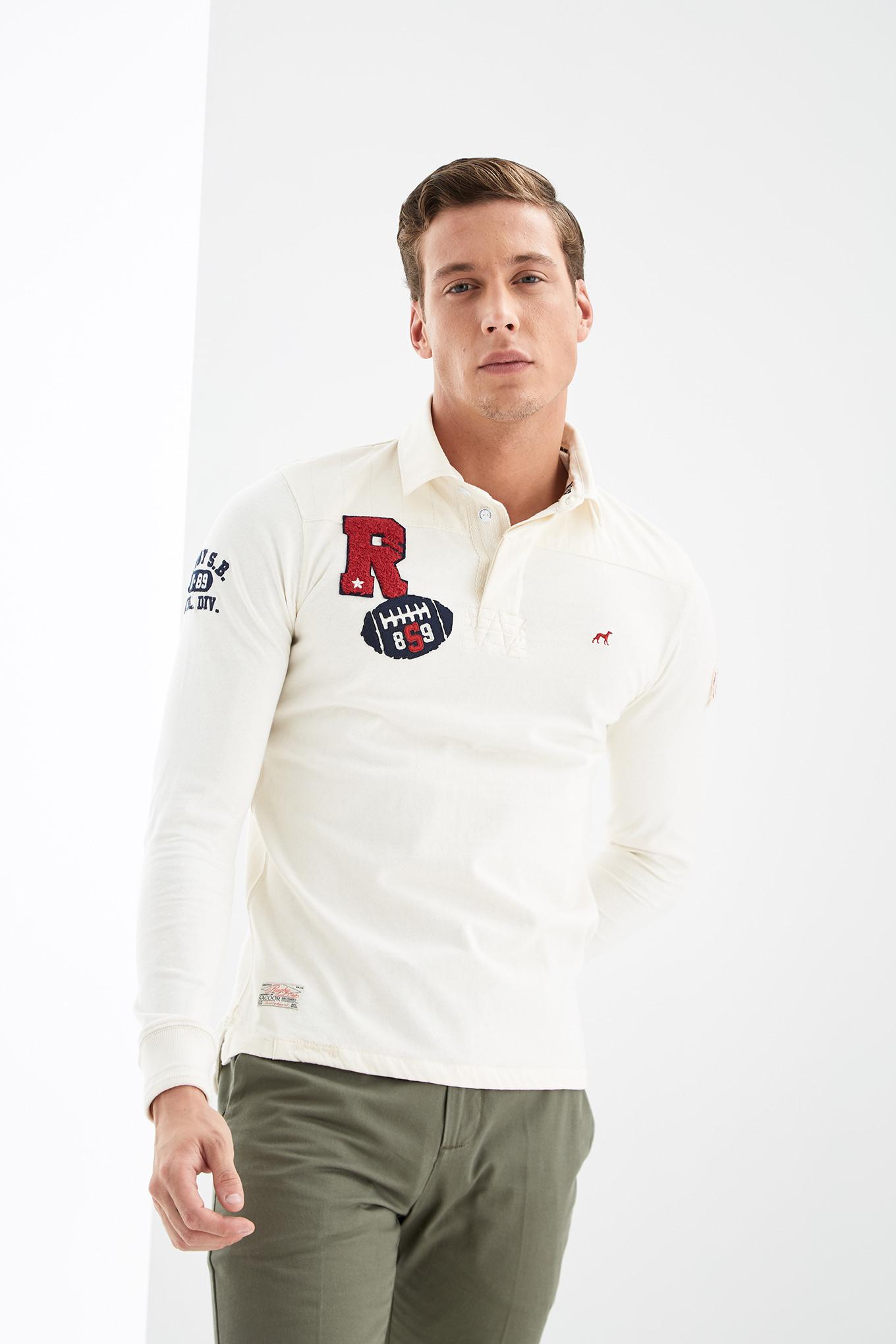 Polo Rugby Cru Sport Homem