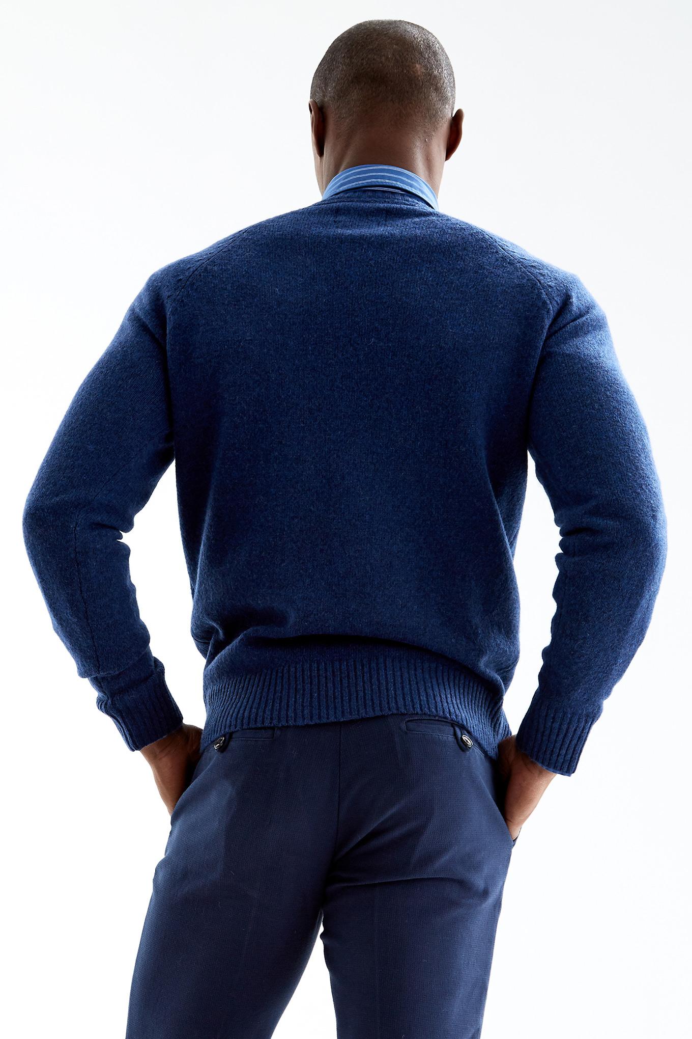 Malha Azul Royal Casual Homem
