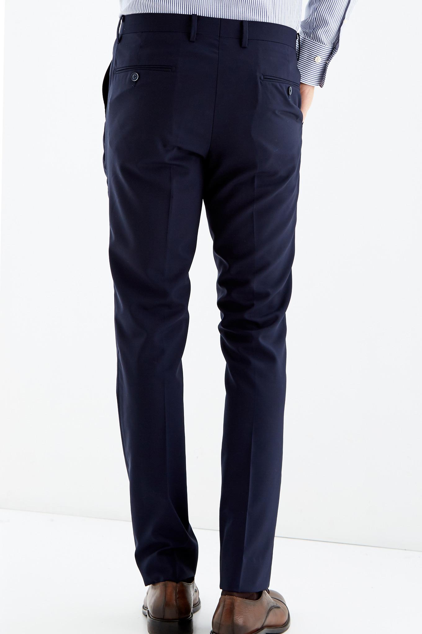 Trousers Dark Blue Classic Man