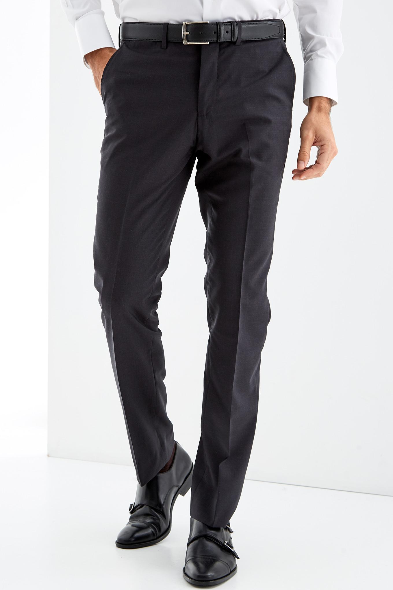 Trousers Dark Grey Classic Man