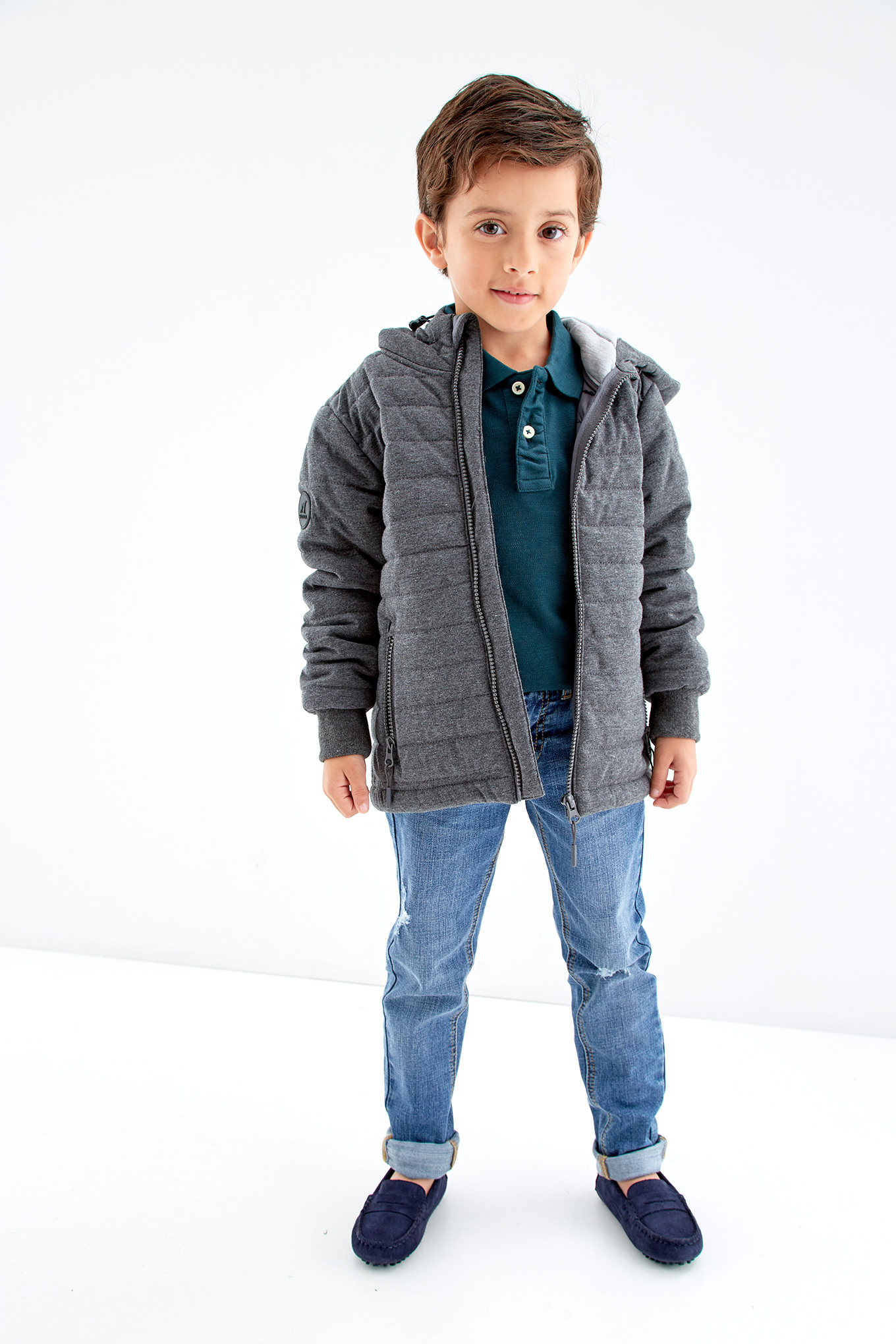 Jacket Mix Grey Sport Boy