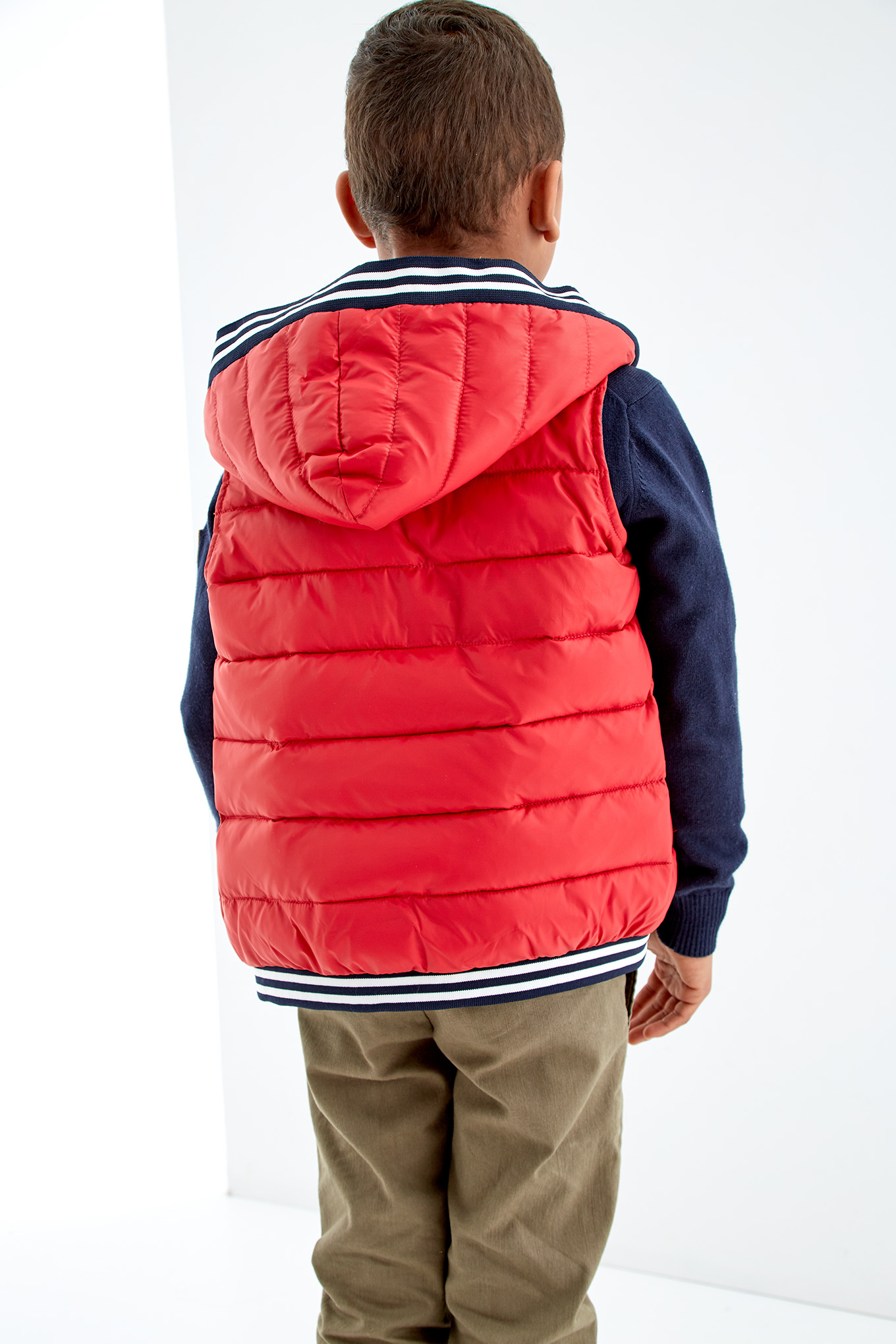 Waist Coat Red Sport Boy