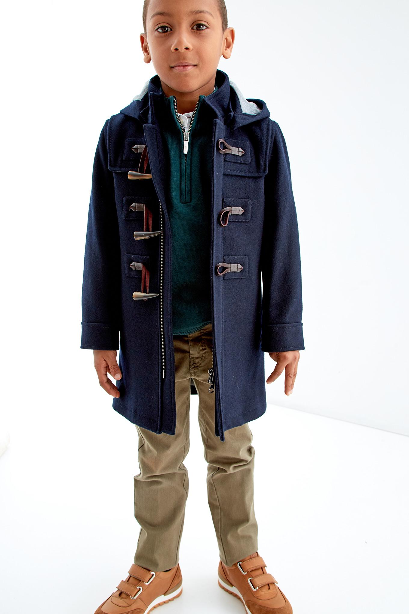 Coat Dark Blue Sport Boy