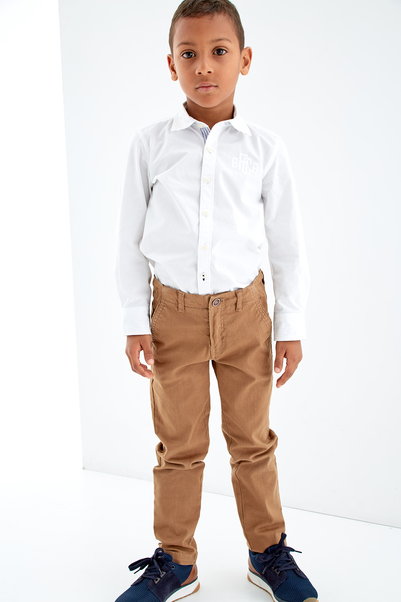 Chino Trousers Caramel Casual Boy