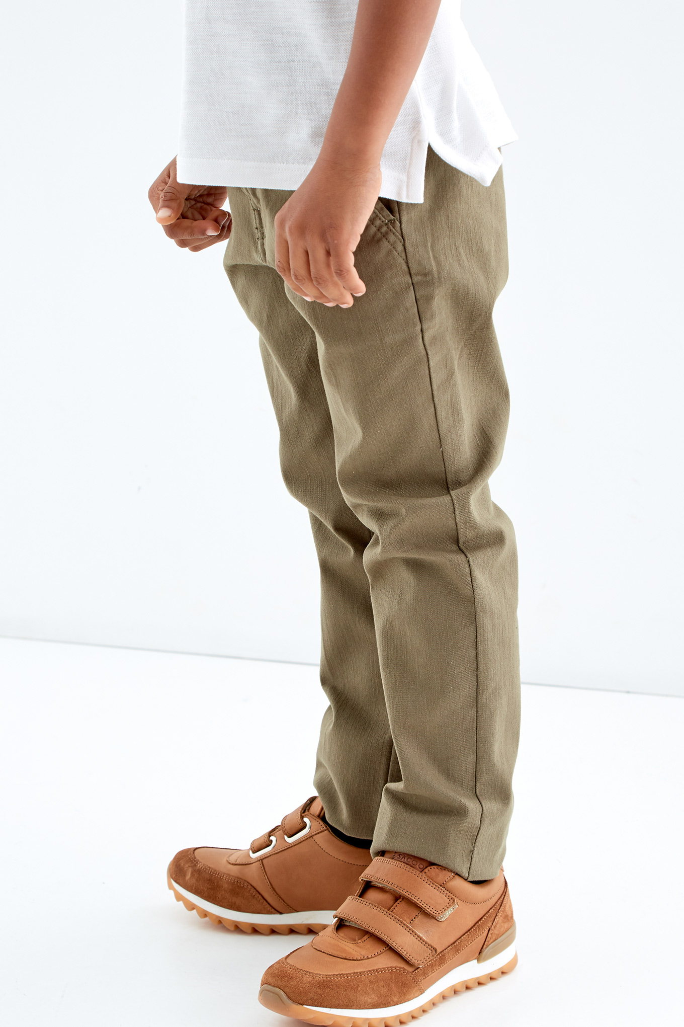 Chino Trousers Khaki Casual Boy