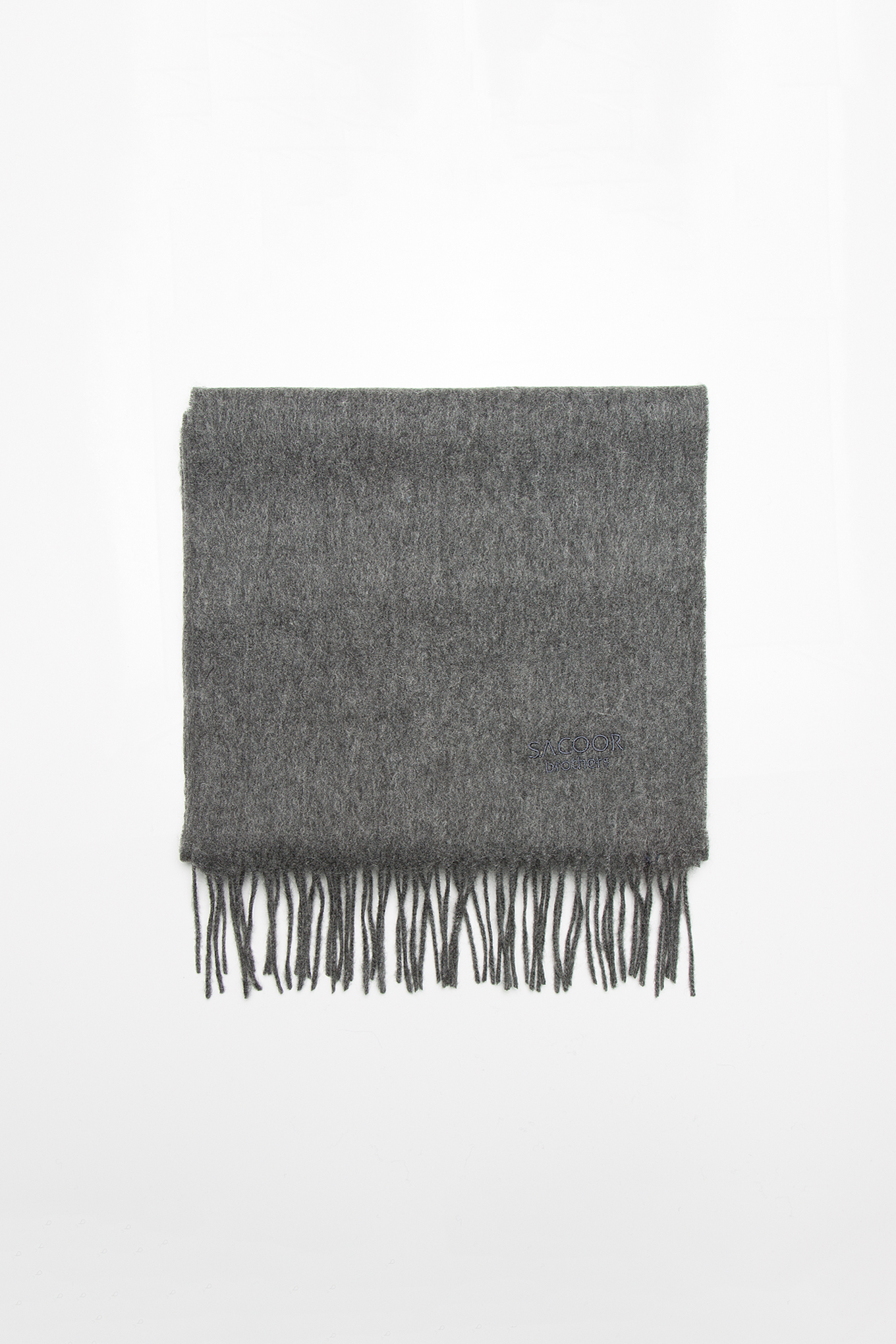 Scarf Grey Casual Man