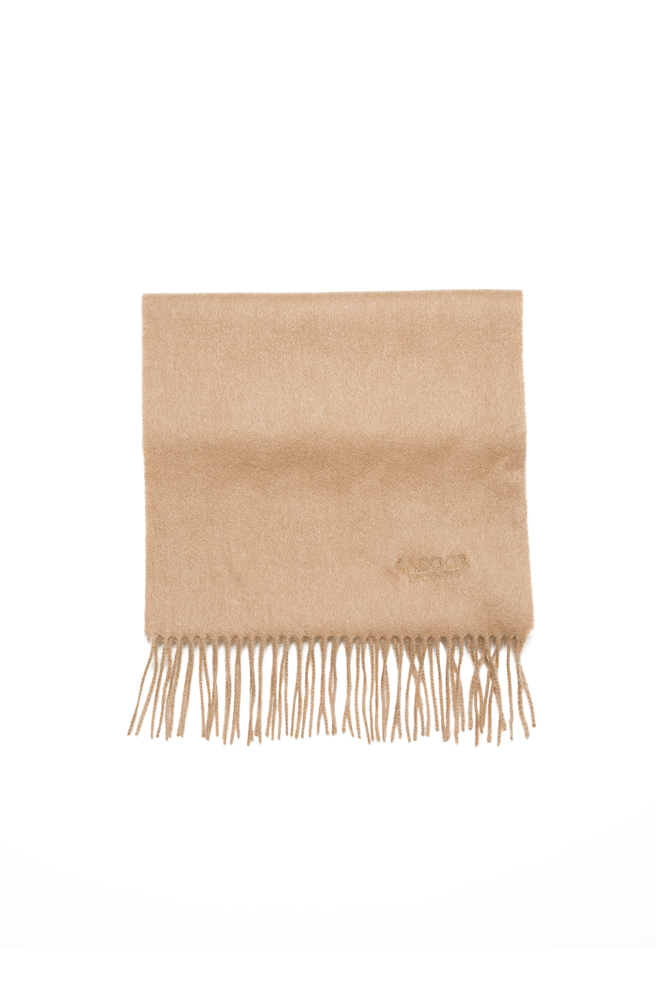 Scarf Dark Beige Casual Man